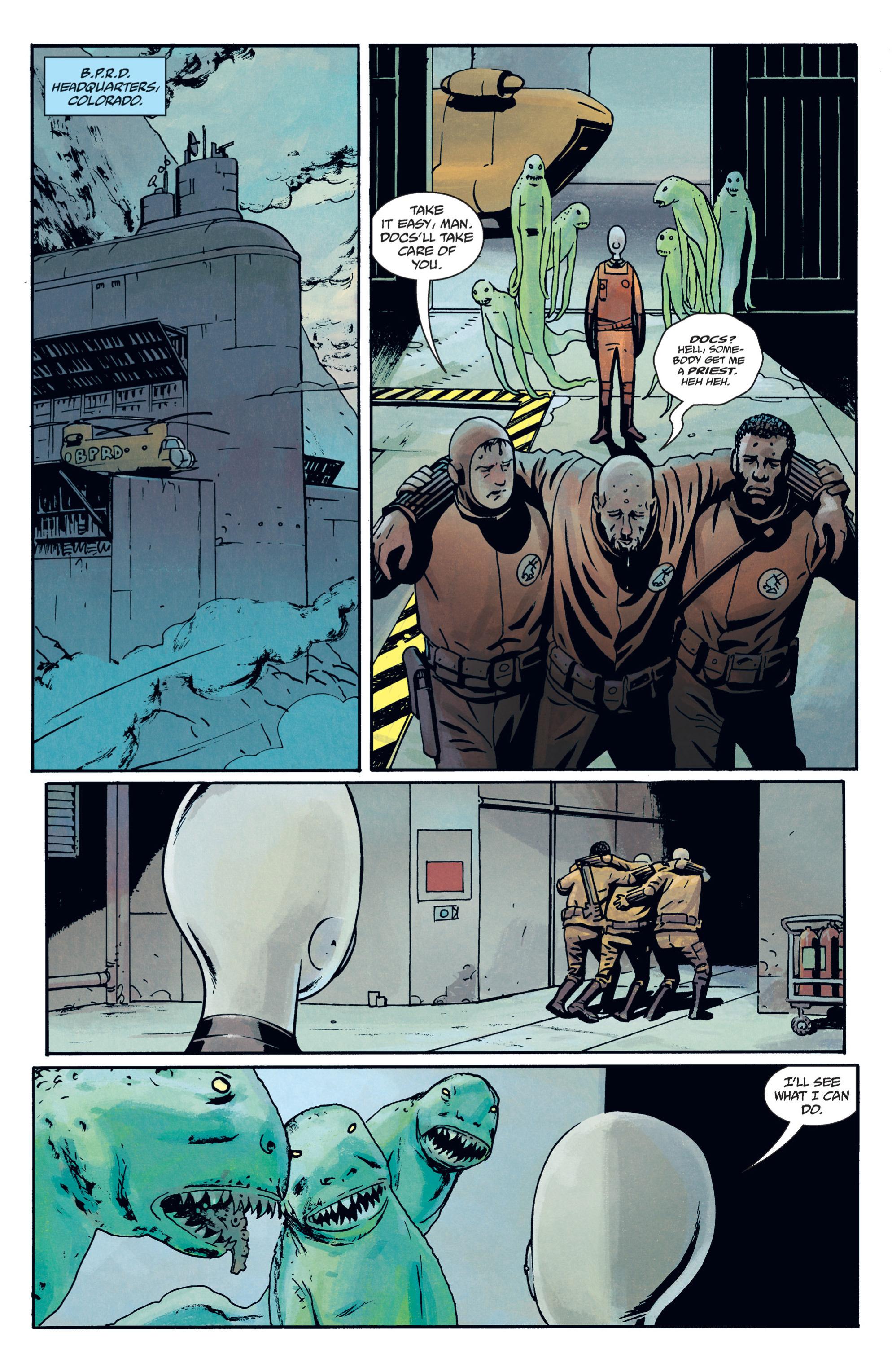 Read online B.P.R.D. (2003) comic -  Issue # TPB 12 - 94