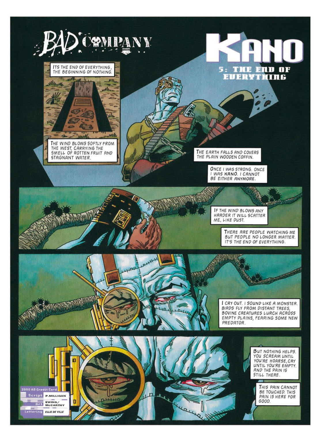 Read online The Complete Bad Company comic -  Issue # TPB - 287