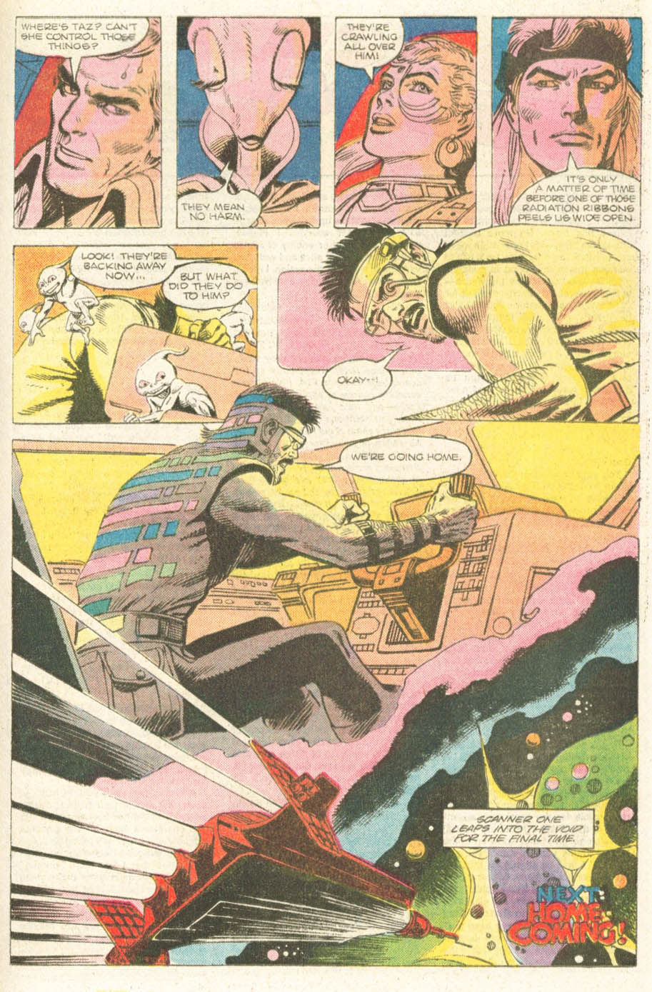 Read online Atari Force (1984) comic -  Issue #18 - 18