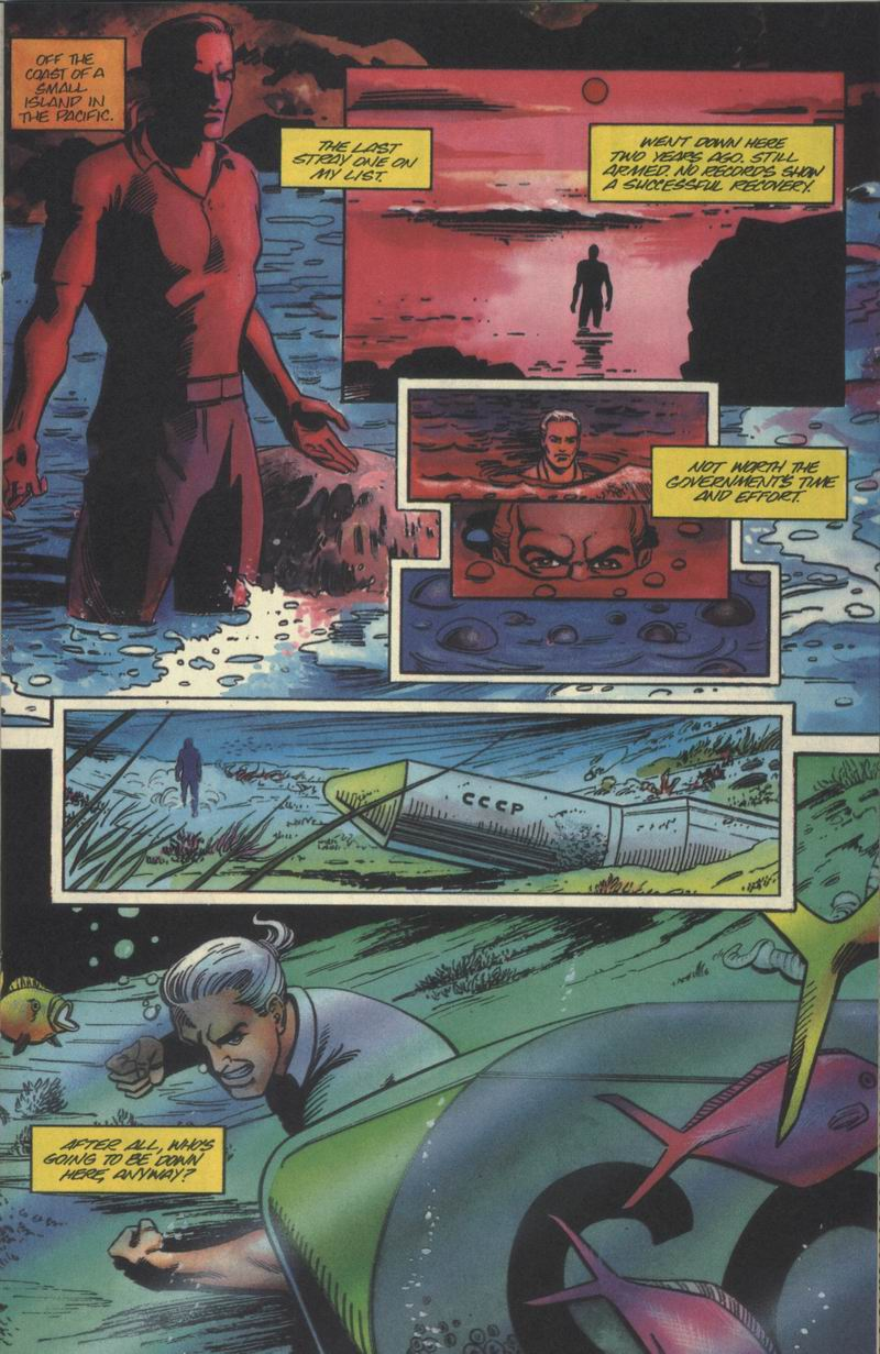 Read online Solar, Man of the Atom comic -  Issue #40 - 9