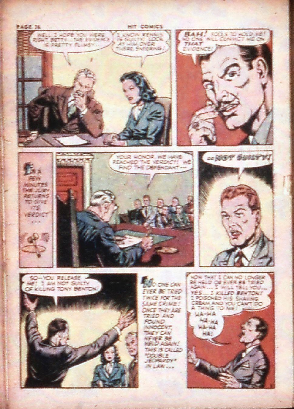 Read online Hit Comics comic -  Issue #29 - 38