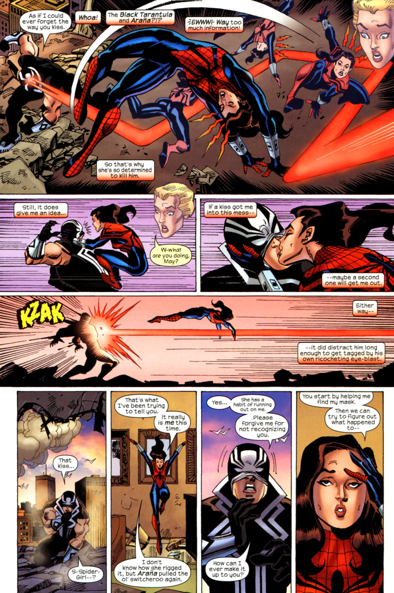Read online Amazing Spider-Girl comic -  Issue #28 - 5