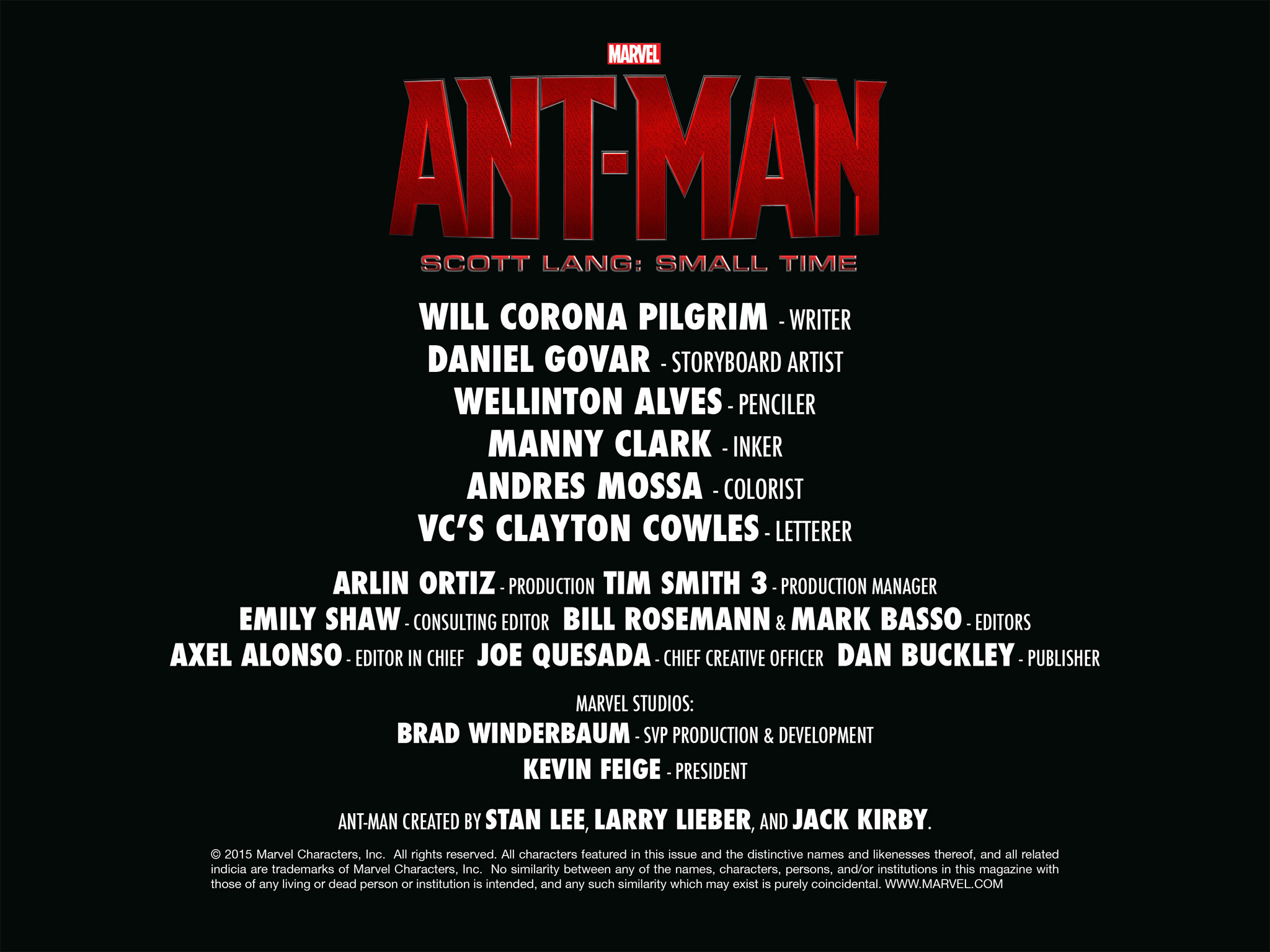 Read online Ant-Man — Scott Lang: Small Time comic -  Issue # Full - 55