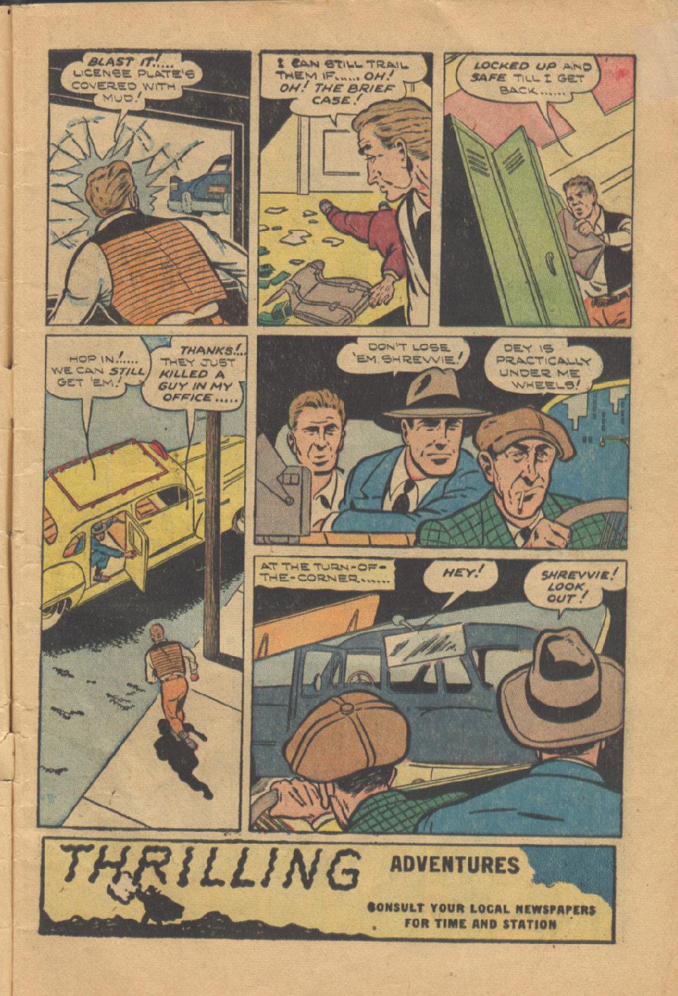 Read online Shadow Comics comic -  Issue #95 - 5