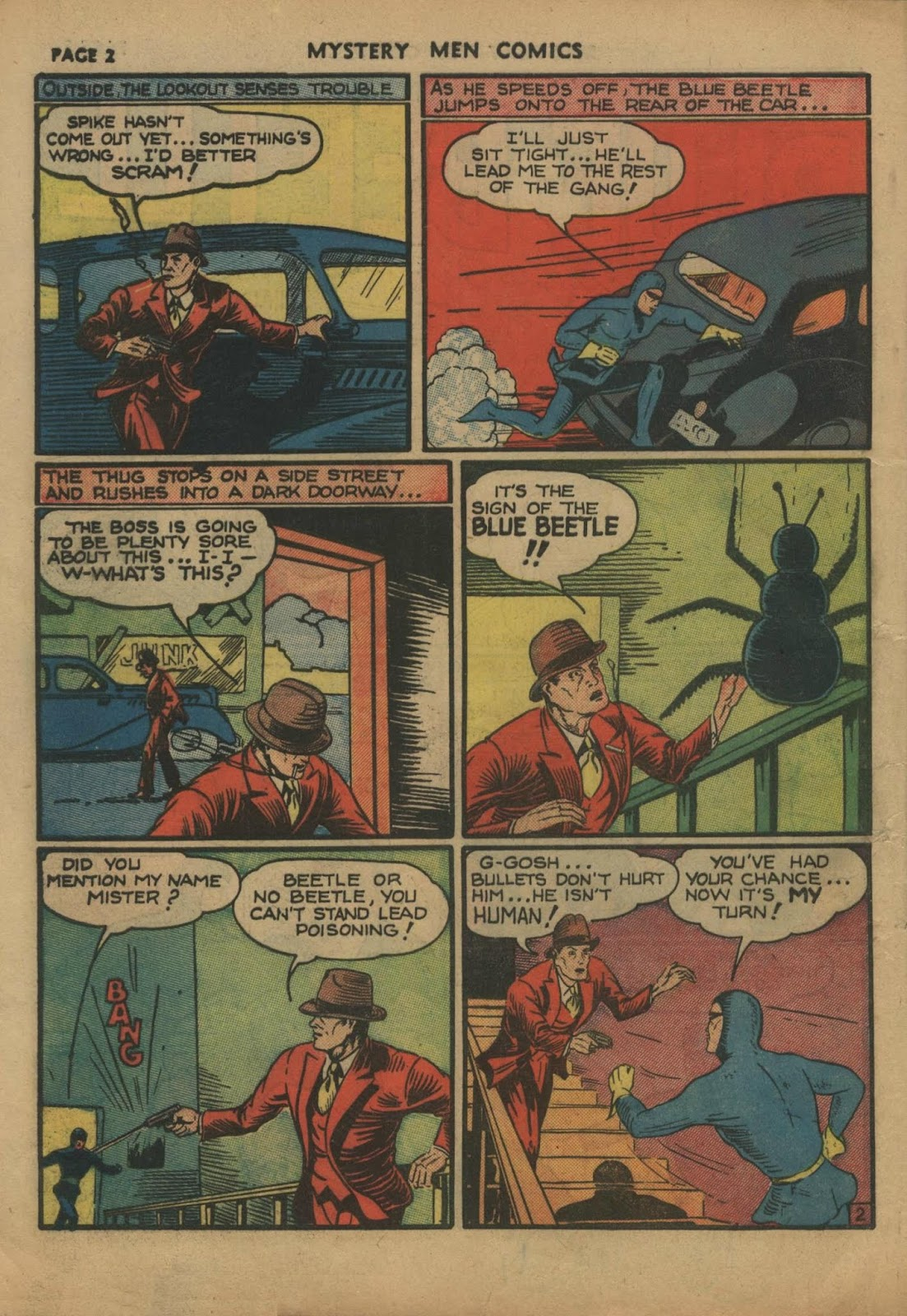 Mystery Men Comics issue 10 - Page 4