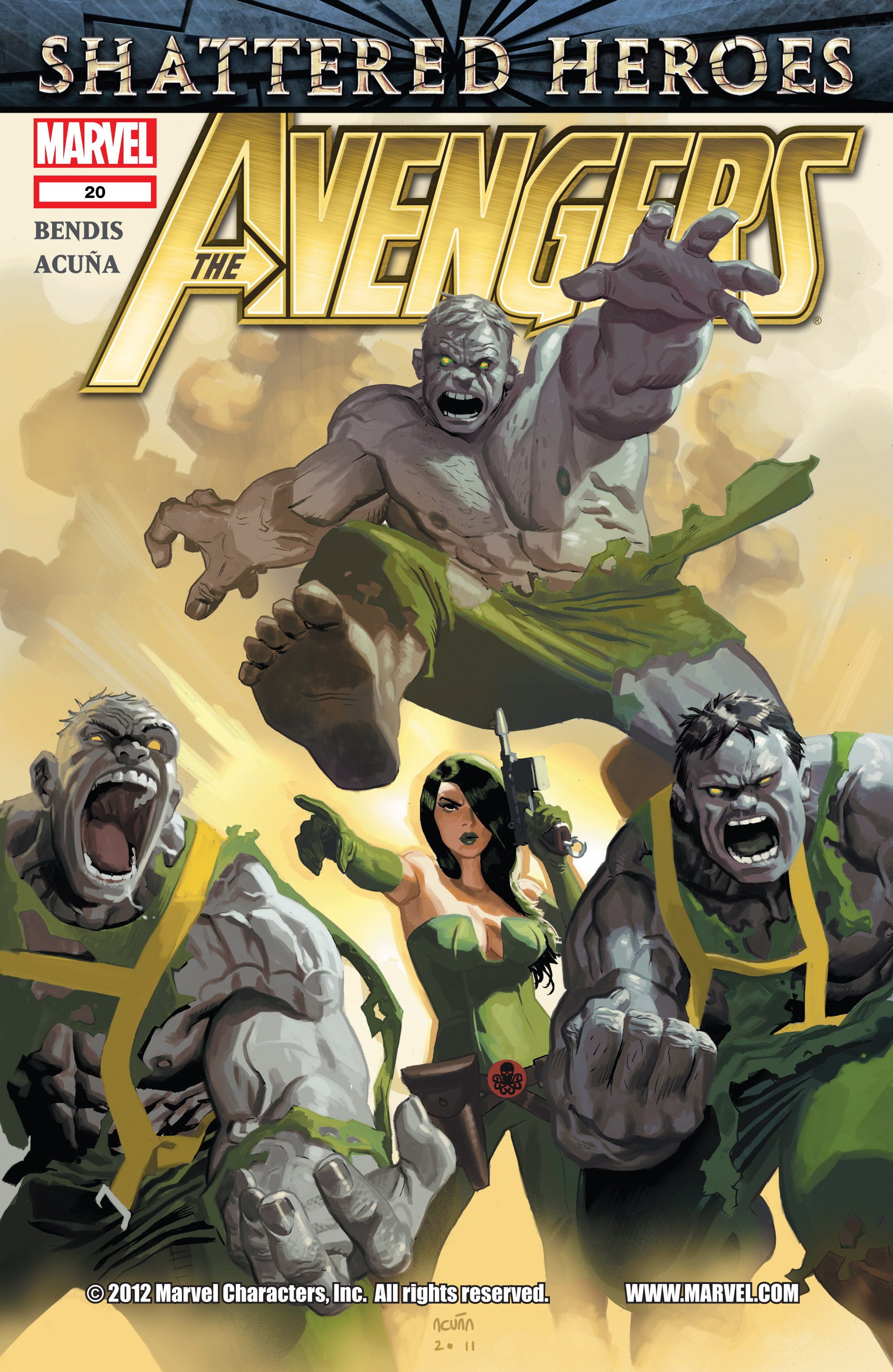 Read online Avengers (2010) comic -  Issue #20 - 1