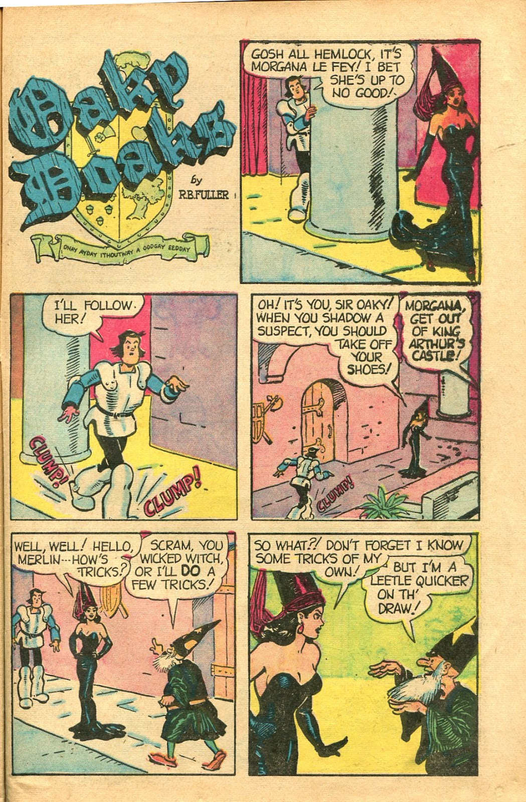 Read online Famous Funnies comic -  Issue #154 - 47