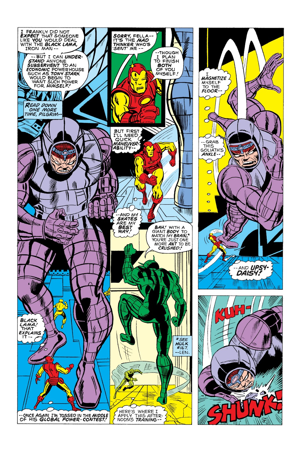 Read online Marvel Masterworks: The Invincible Iron Man comic -  Issue # TPB 10 (Part 2) - 32