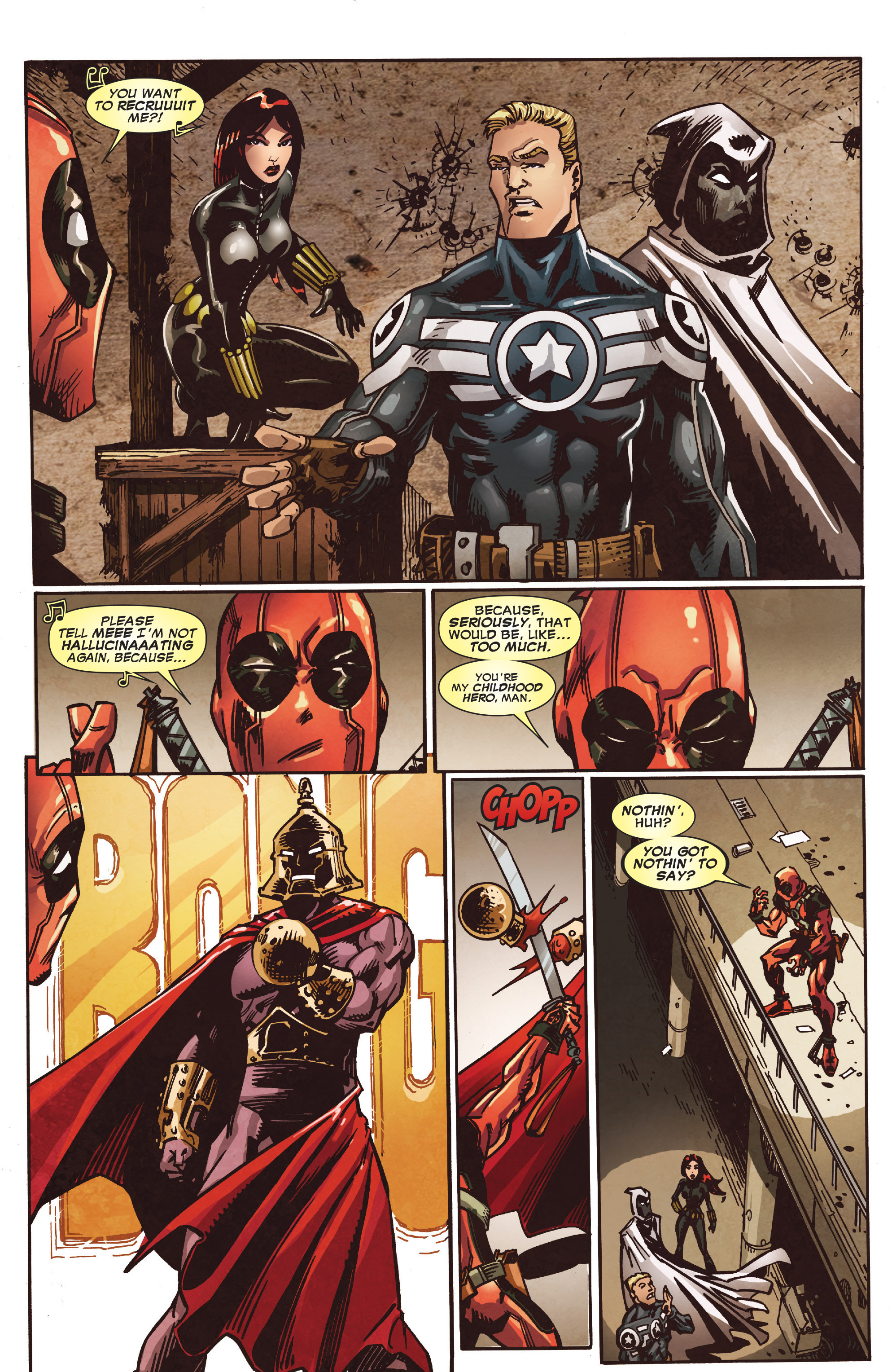 Read online True Believers: Deadpool the Musical comic -  Issue # Full - 18