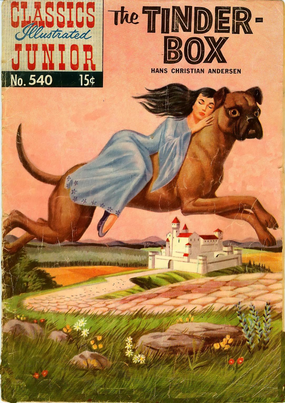 Classics Illustrated Junior 540 Page 1