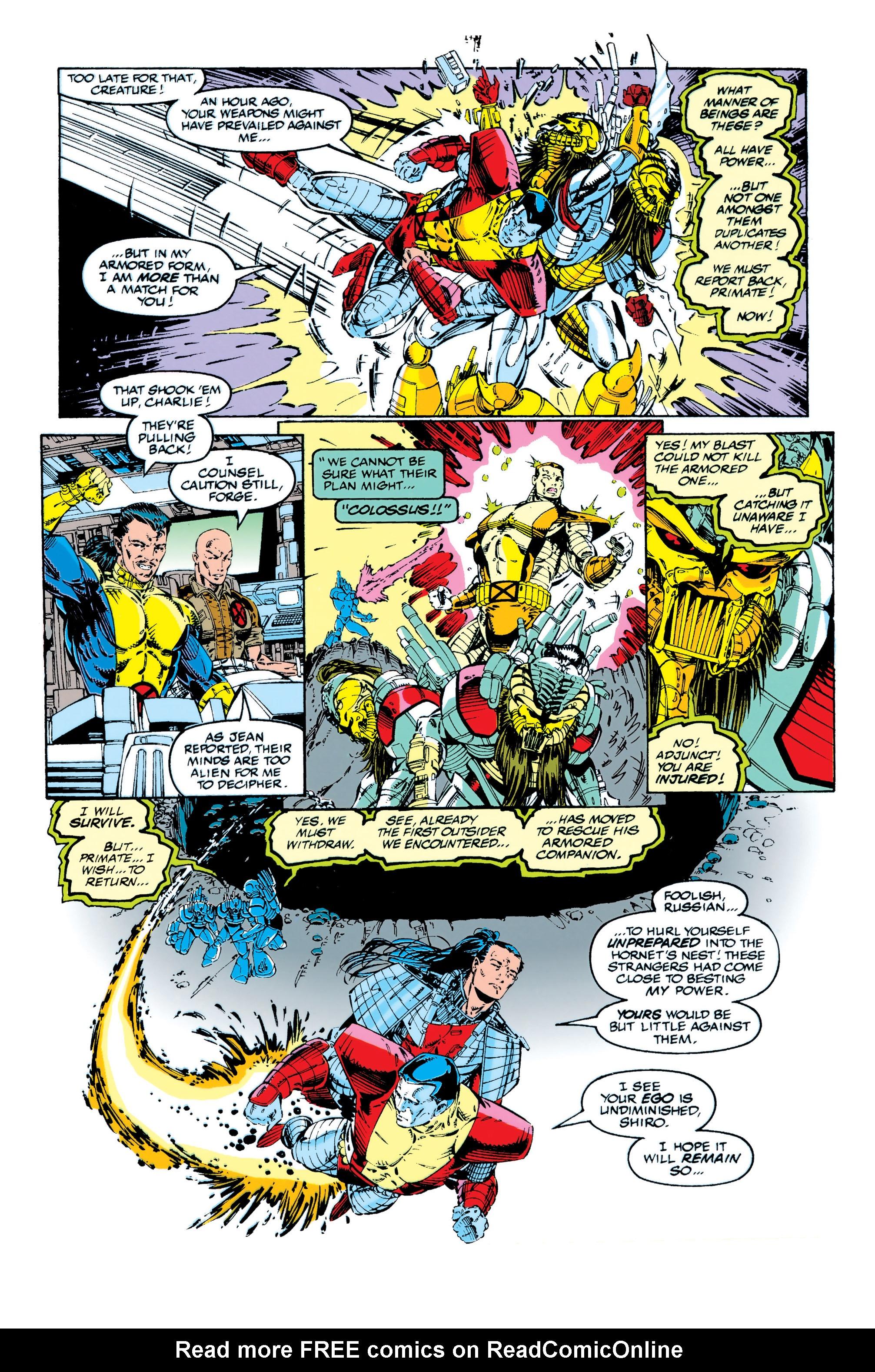 Read online Uncanny X-Men (1963) comic -  Issue #284 - 13