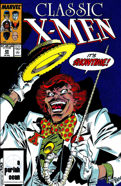 Classic X-Men 29 Page 1