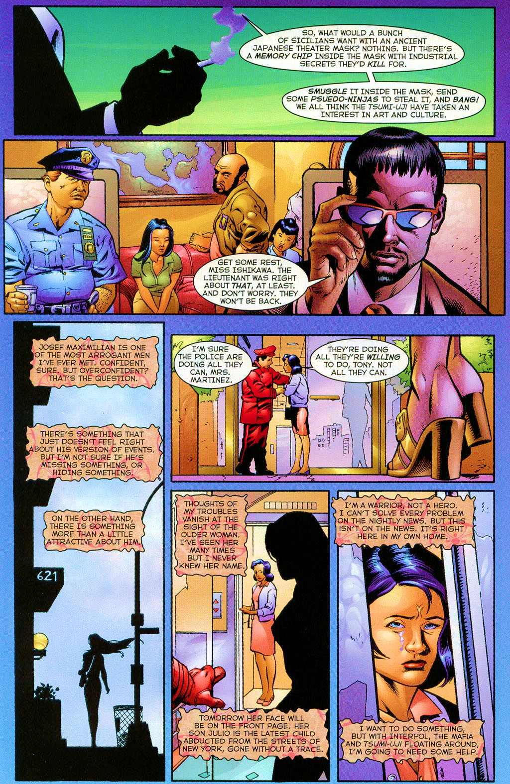 Read online Shi: The Series comic -  Issue #3 - 9