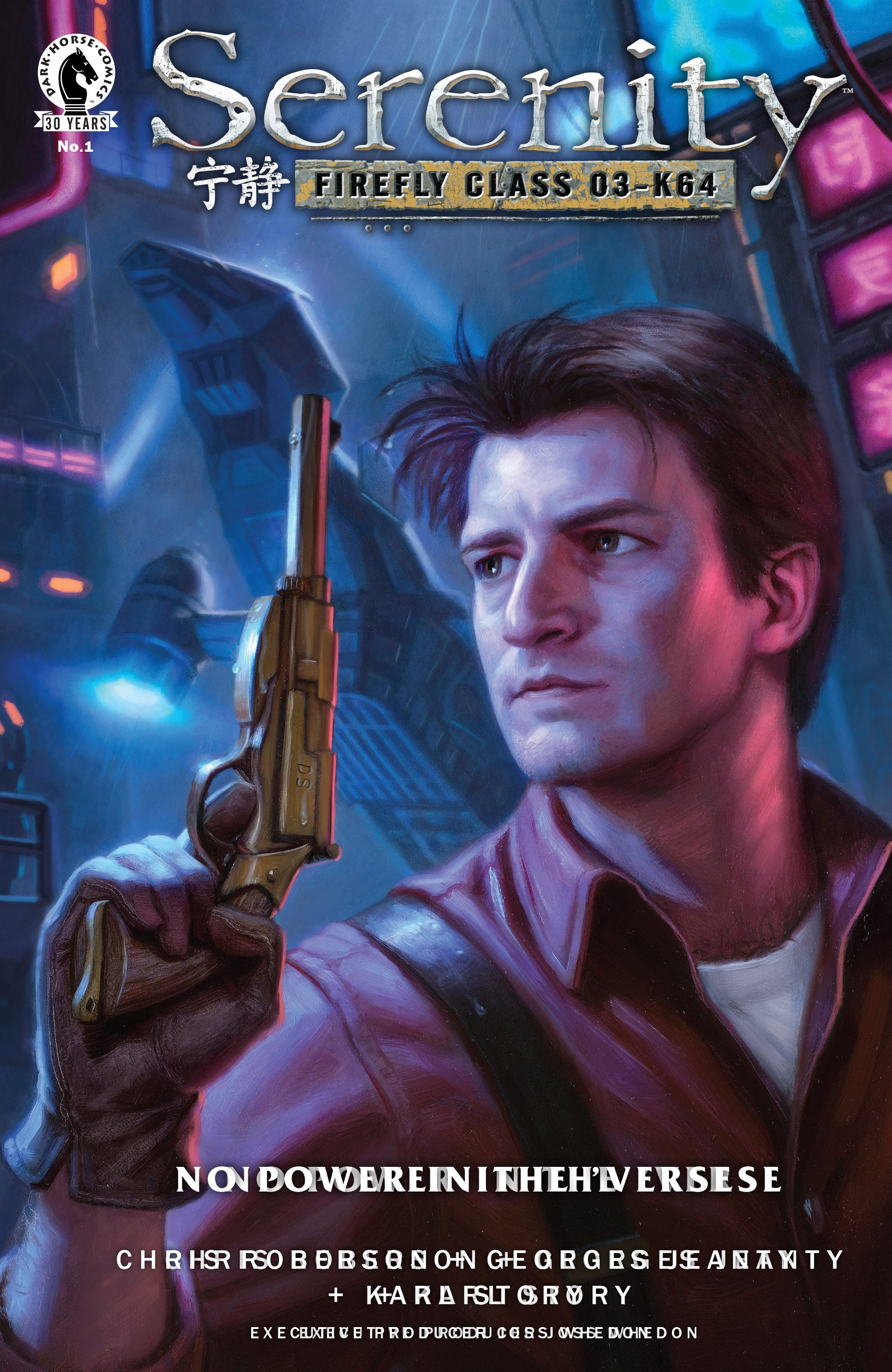 Read online Serenity: Firefly Class 03-K64 – No Power in the 'Verse comic -  Issue #1 - 1