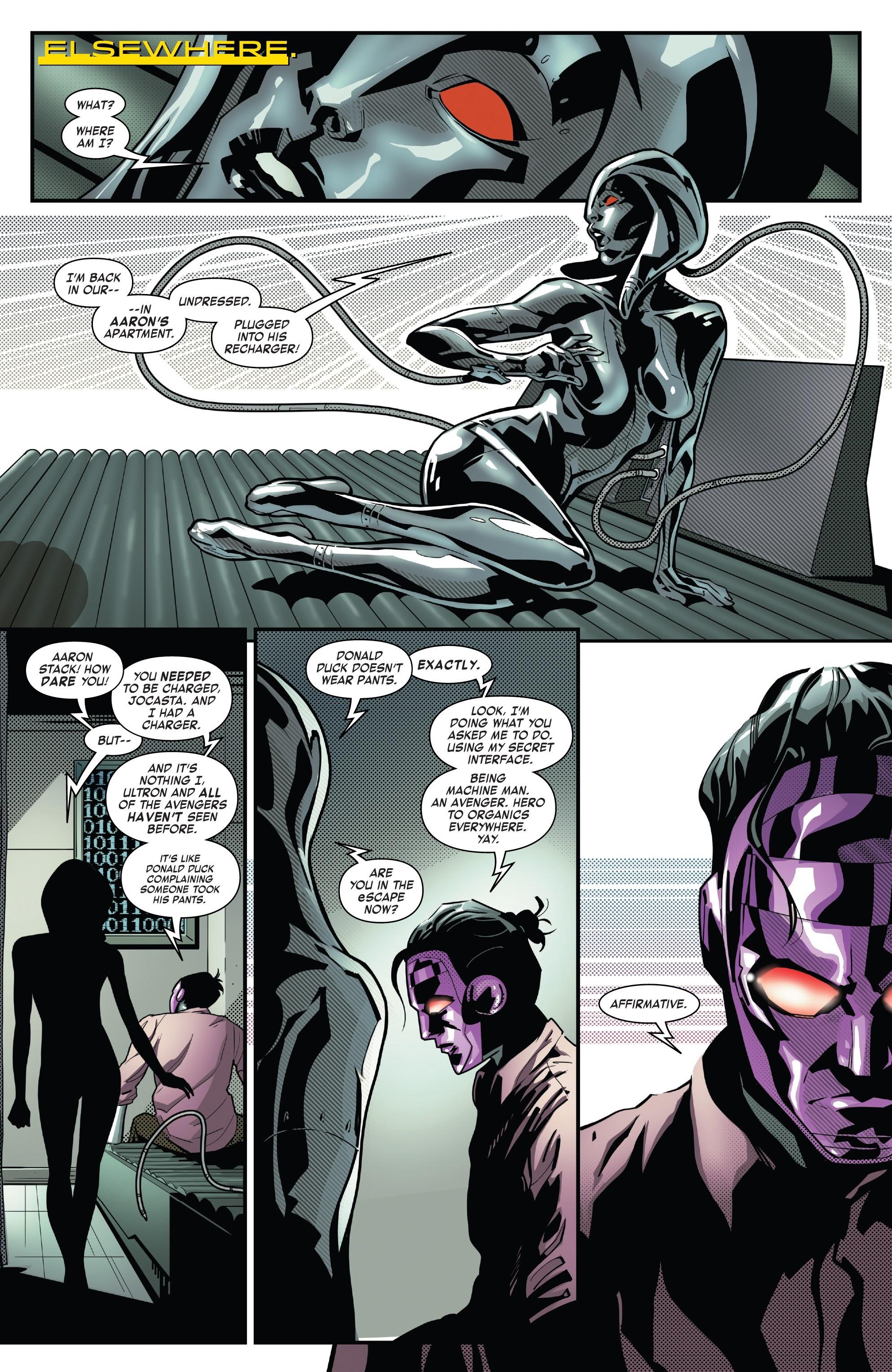 Read online Tony Stark: Iron Man comic -  Issue #8 - 18