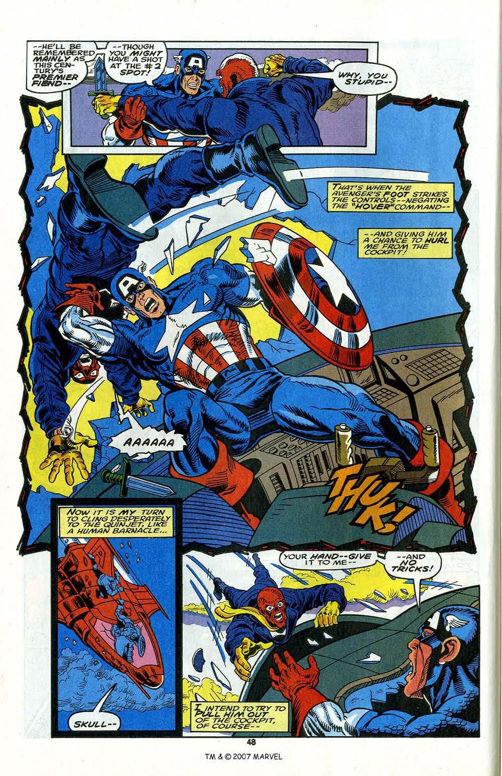 Read online Captain America (1968) comic -  Issue # _Annual 13 - 50