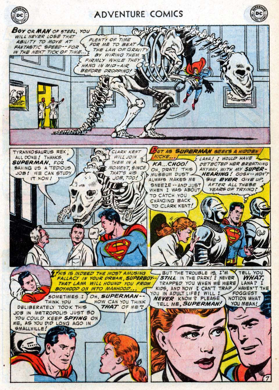 Read online Adventure Comics (1938) comic -  Issue #211 - 9