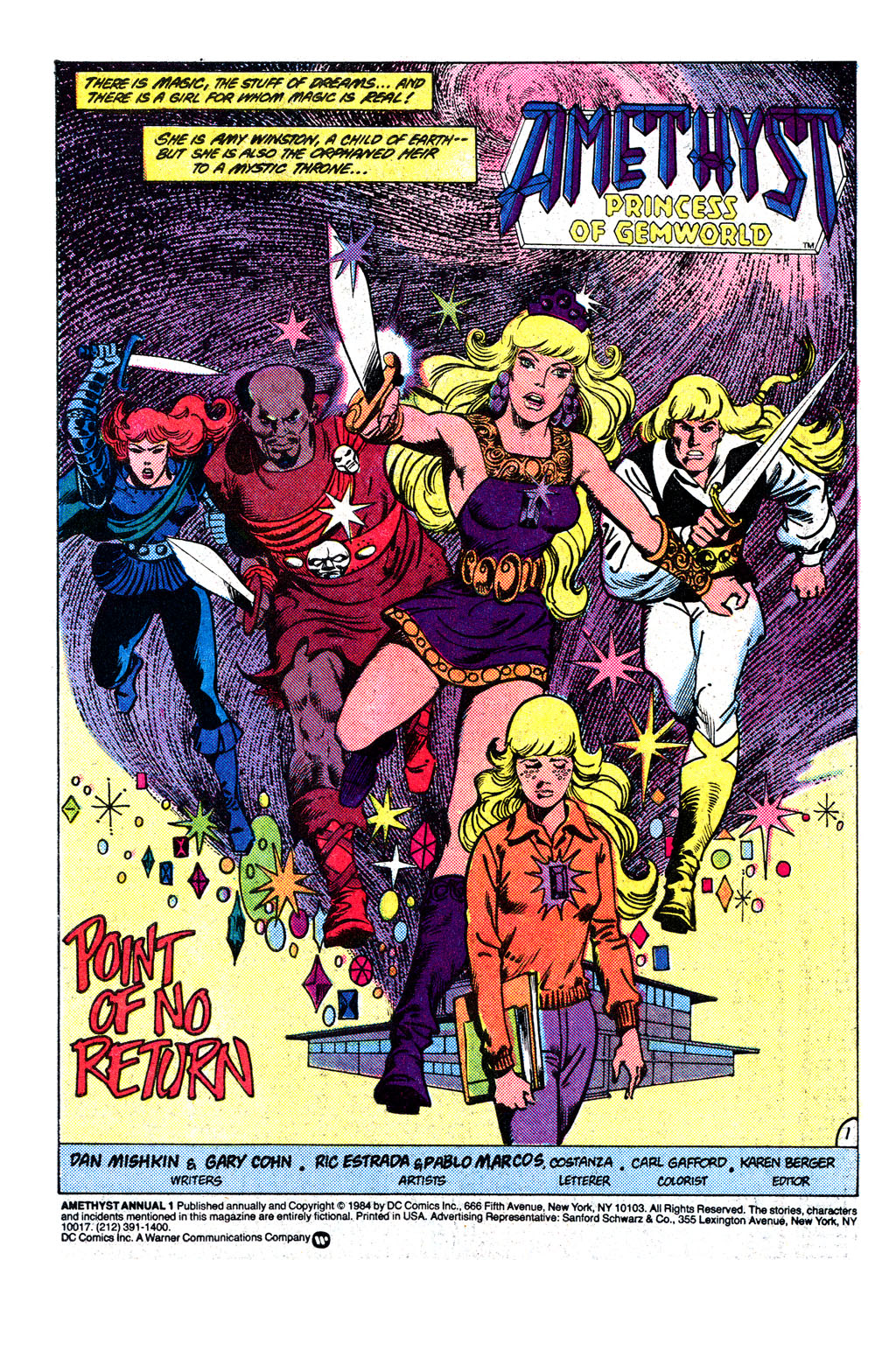 Read online Amethyst, Princess of Gemworld comic -  Issue # _Annual 1 - 2