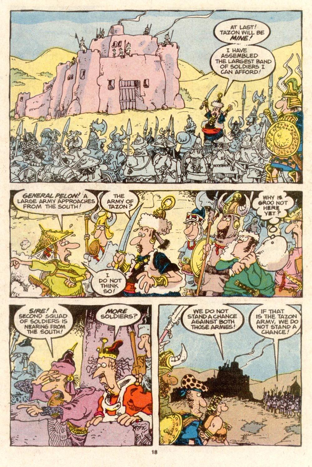 Read online Sergio Aragonés Groo the Wanderer comic -  Issue #38 - 18