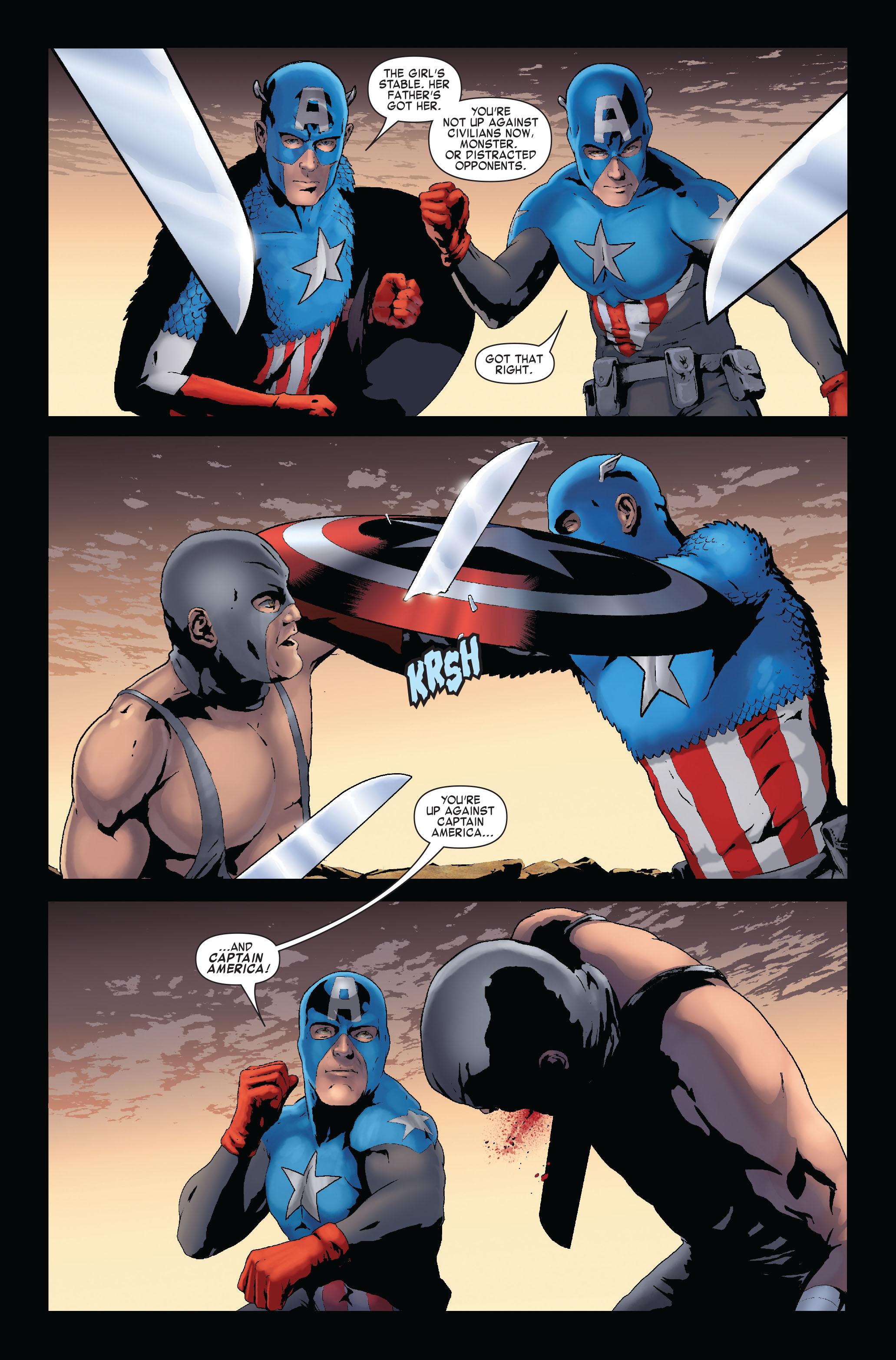 Read online Siege: Captain America comic -  Issue # Full - 22