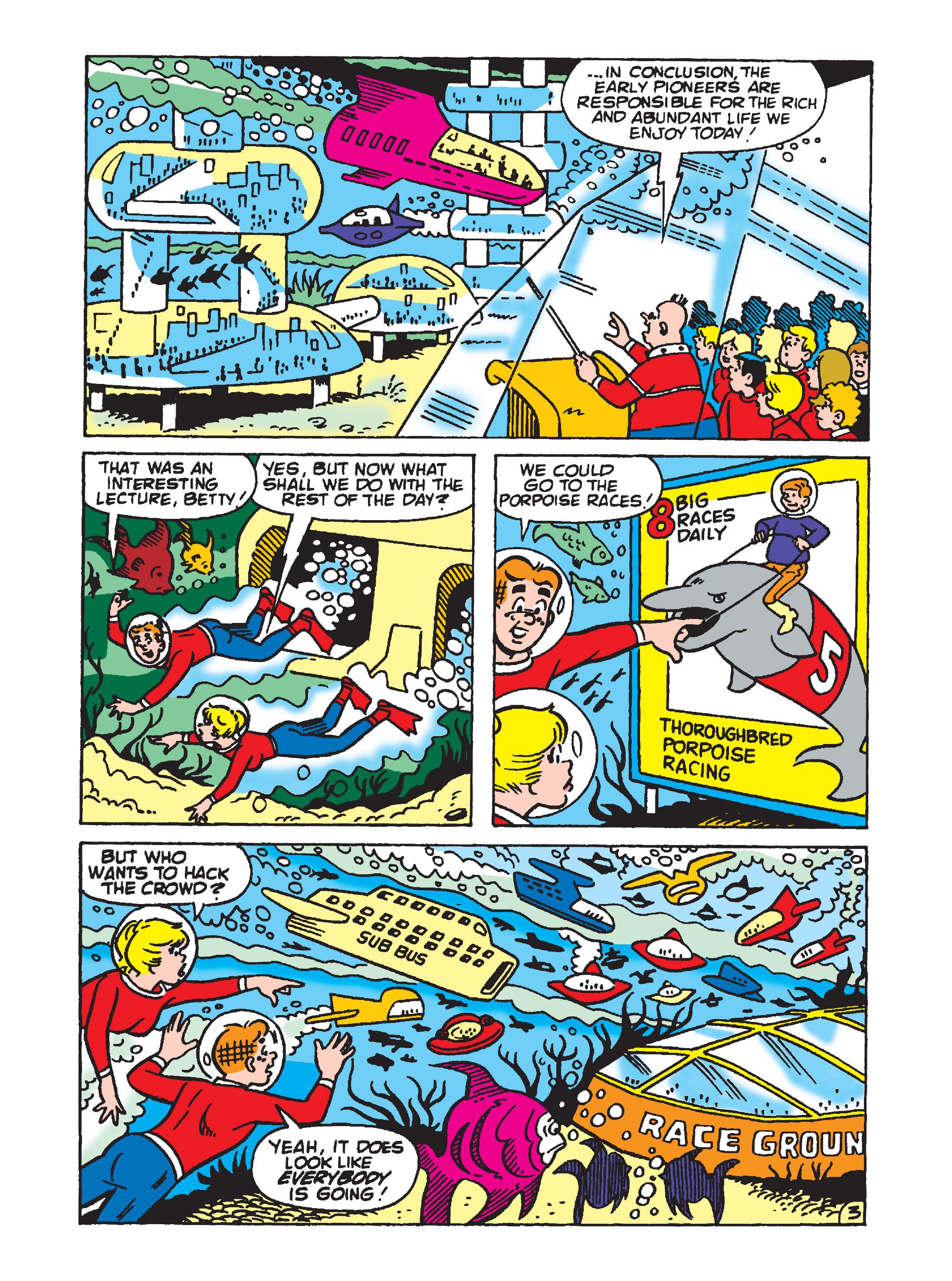 Read online Archie 1000 Page Comics Bonanza comic -  Issue #2 (Part 1) - 144