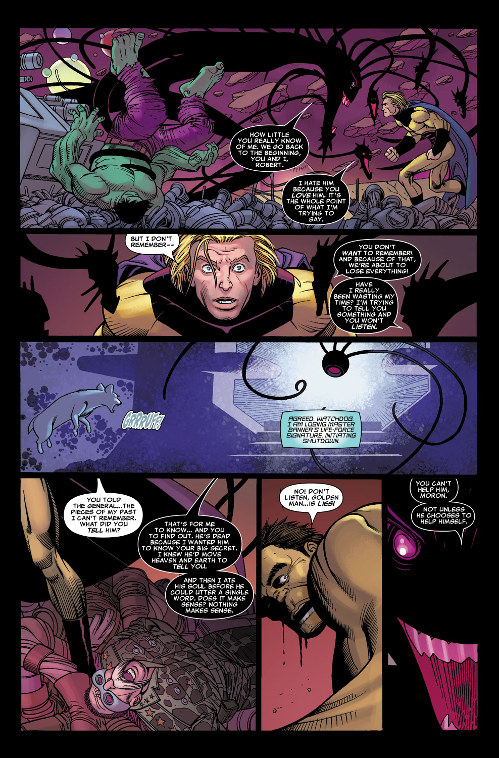 Read online Sentry (2006) comic -  Issue #3 - 19