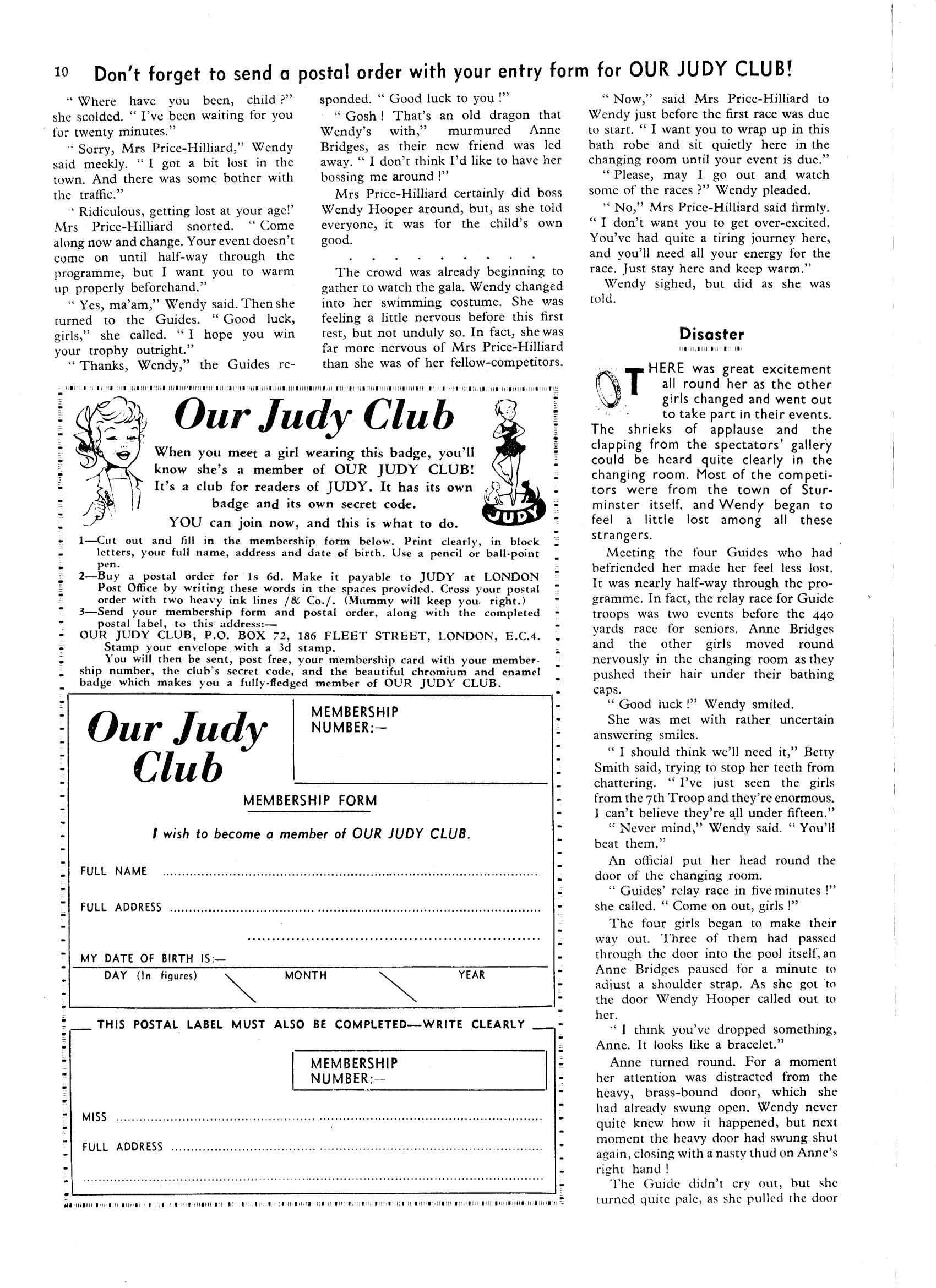 Read online Judy comic -  Issue #32 - 10