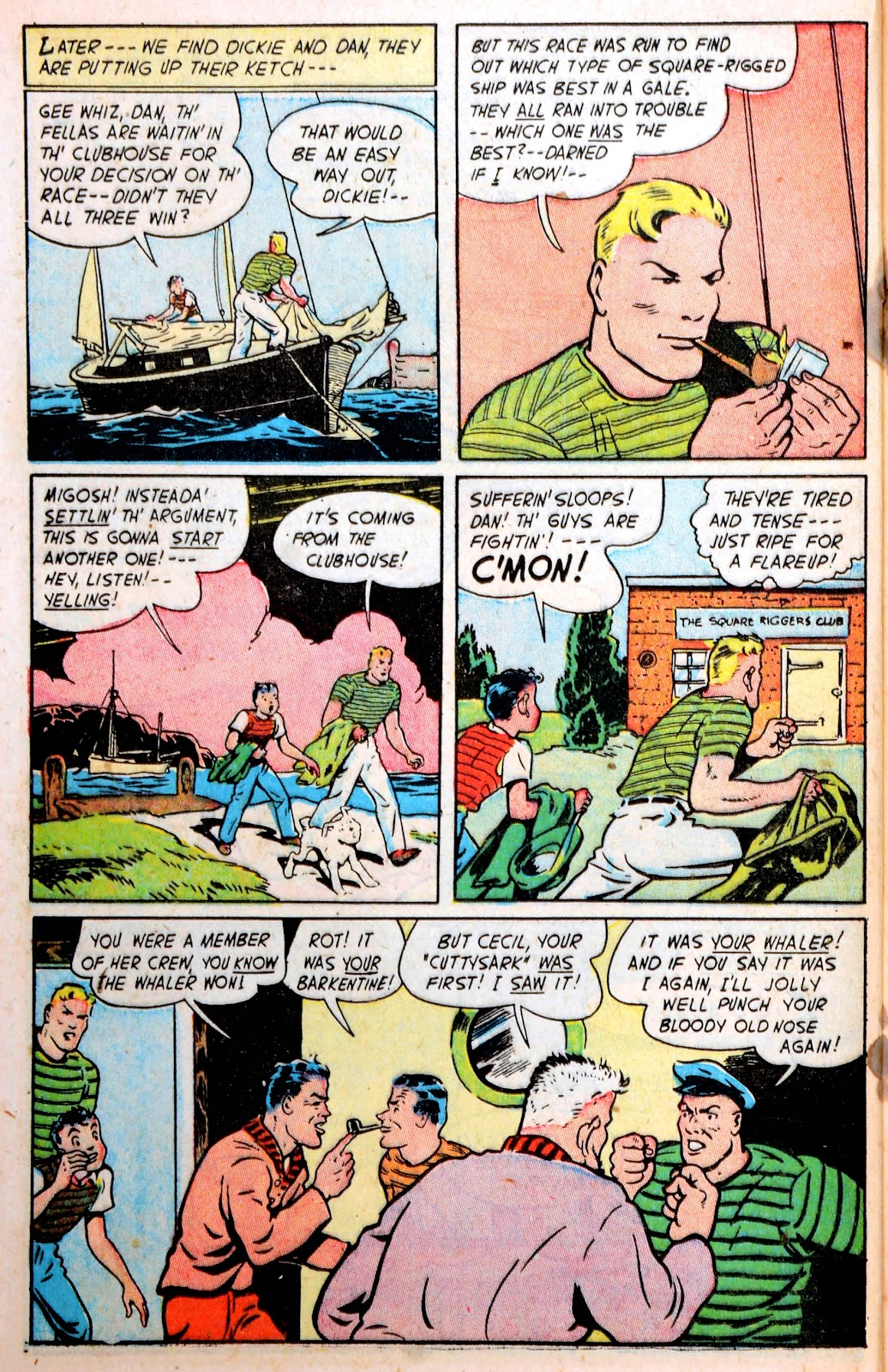 Read online Famous Funnies comic -  Issue #194 - 32