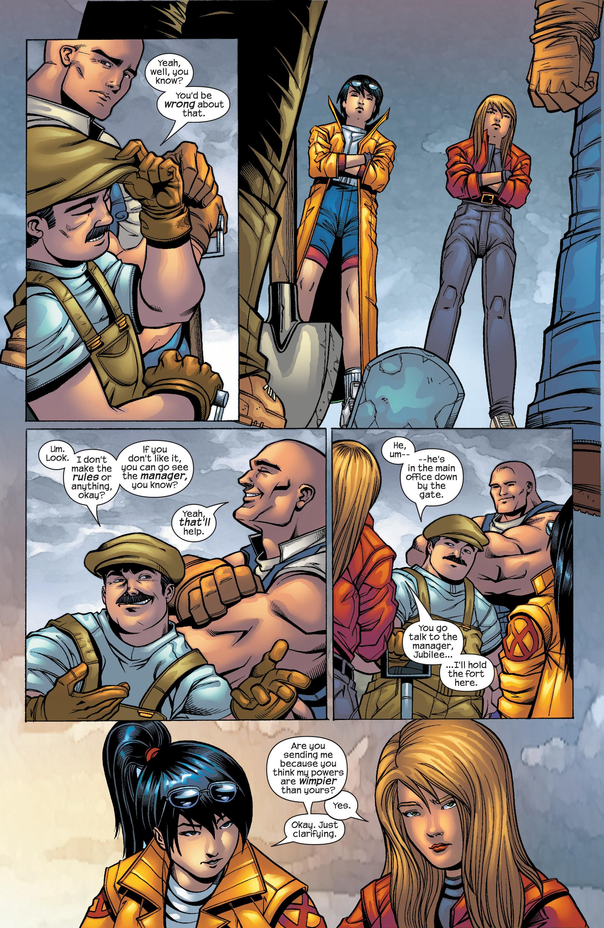 Read online Uncanny X-Men (1963) comic -  Issue #427 - 9