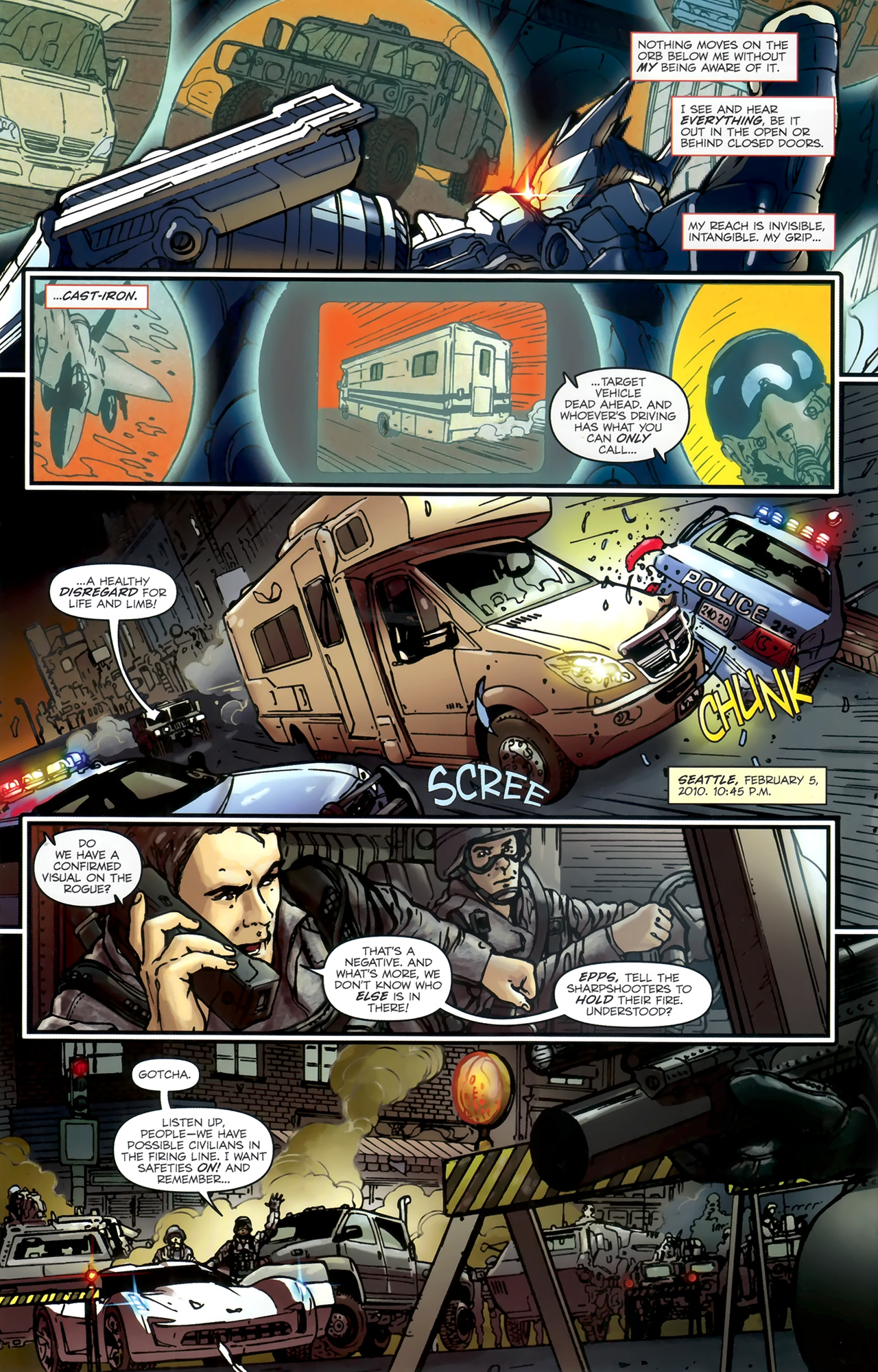 Read online Transformers: Nefarious comic -  Issue #1 - 6