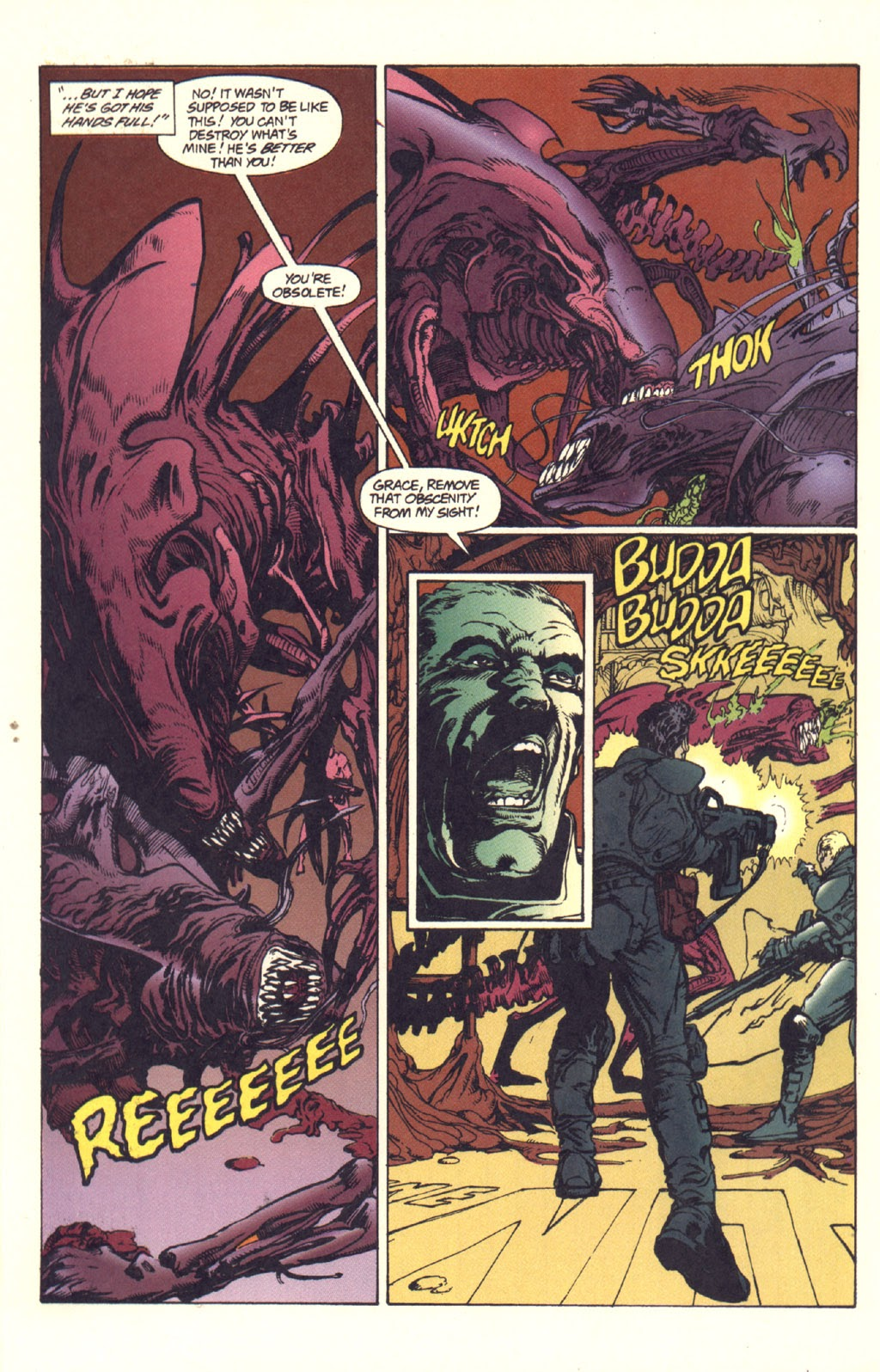 Read online Aliens: Rogue comic -  Issue #1 - 101