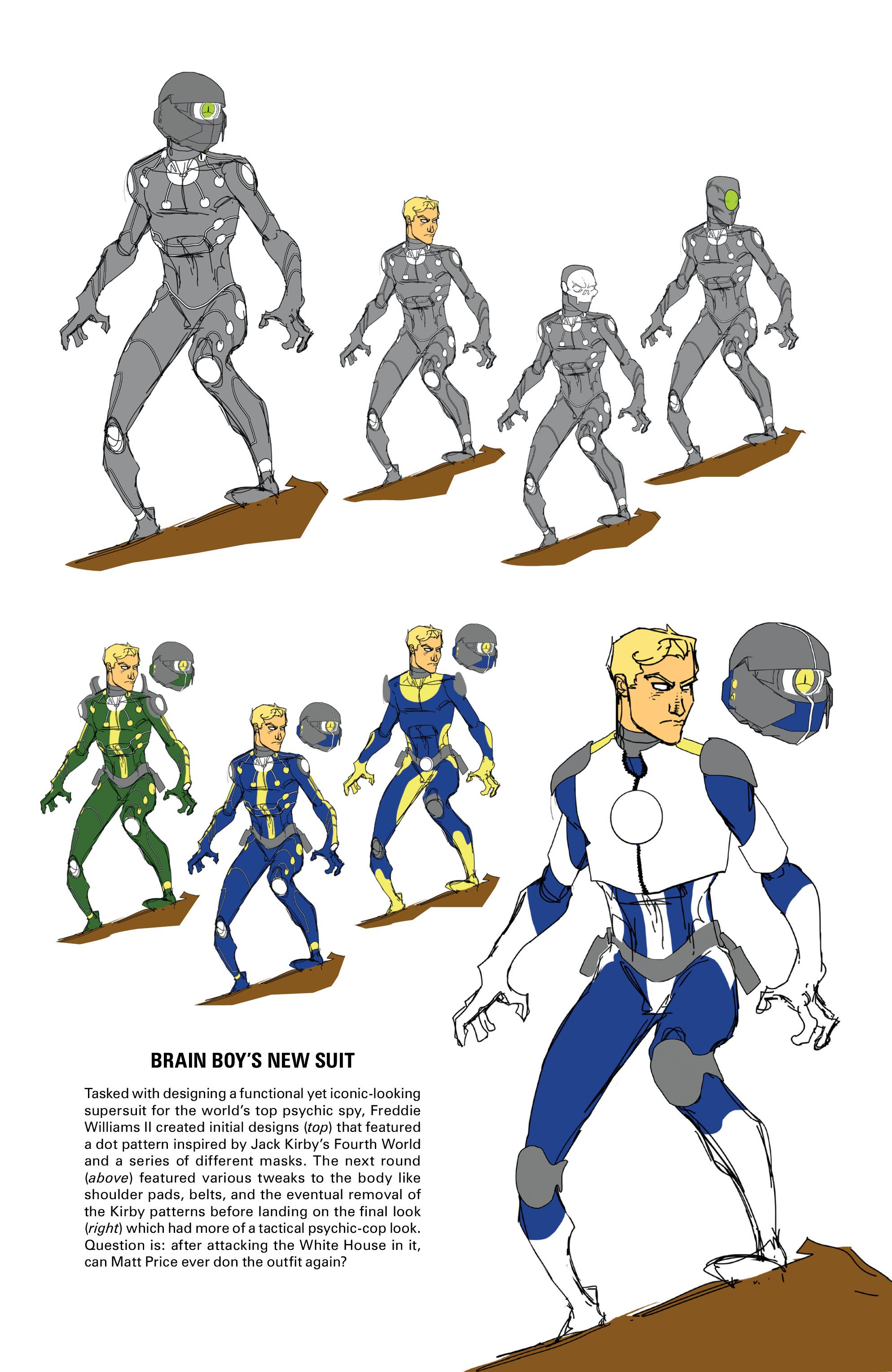 Read online Brain Boy:  The Men from G.E.S.T.A.L.T. comic -  Issue # TPB - 106