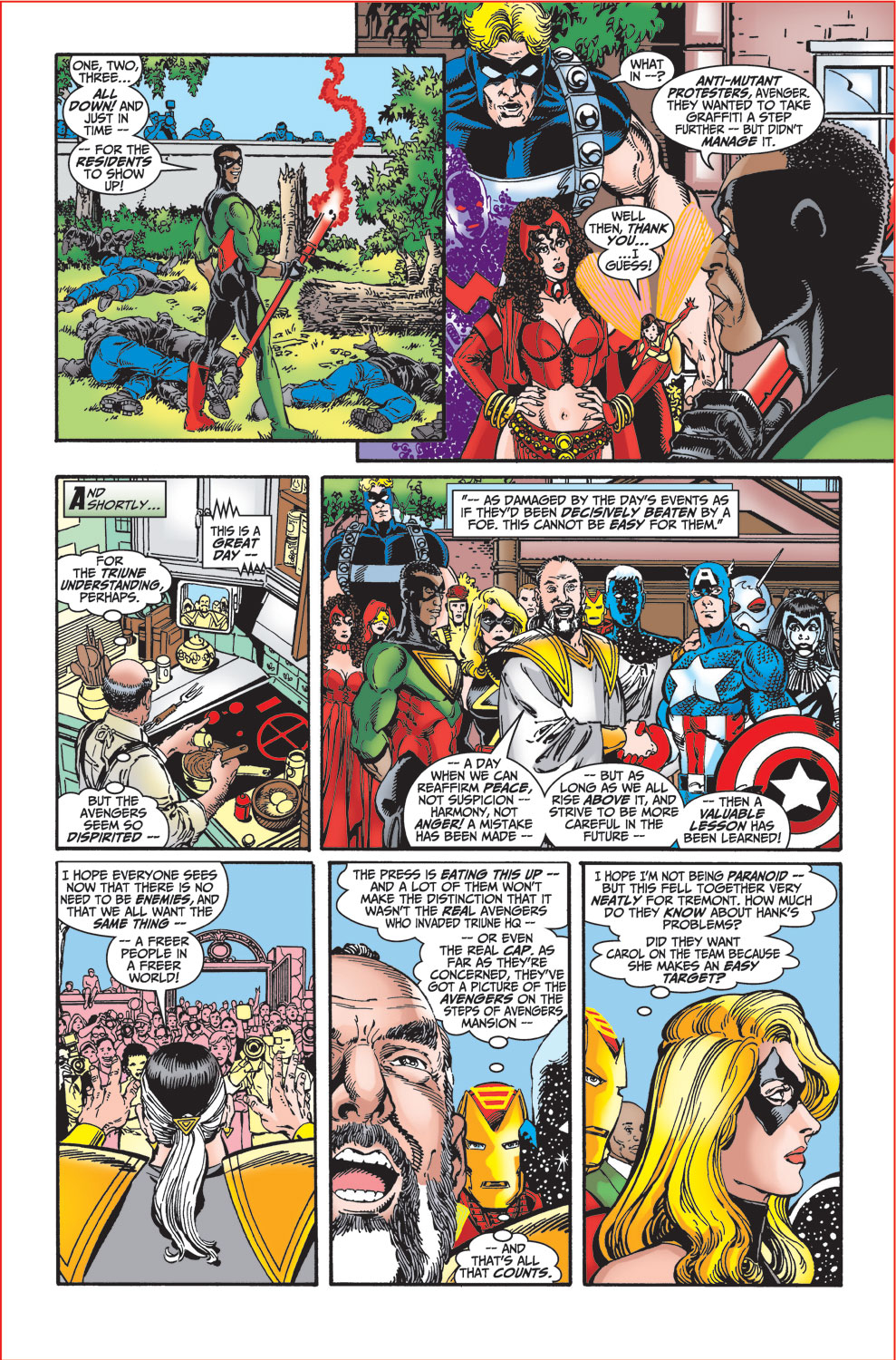 Read online Avengers (1998) comic -  Issue #27 - 16