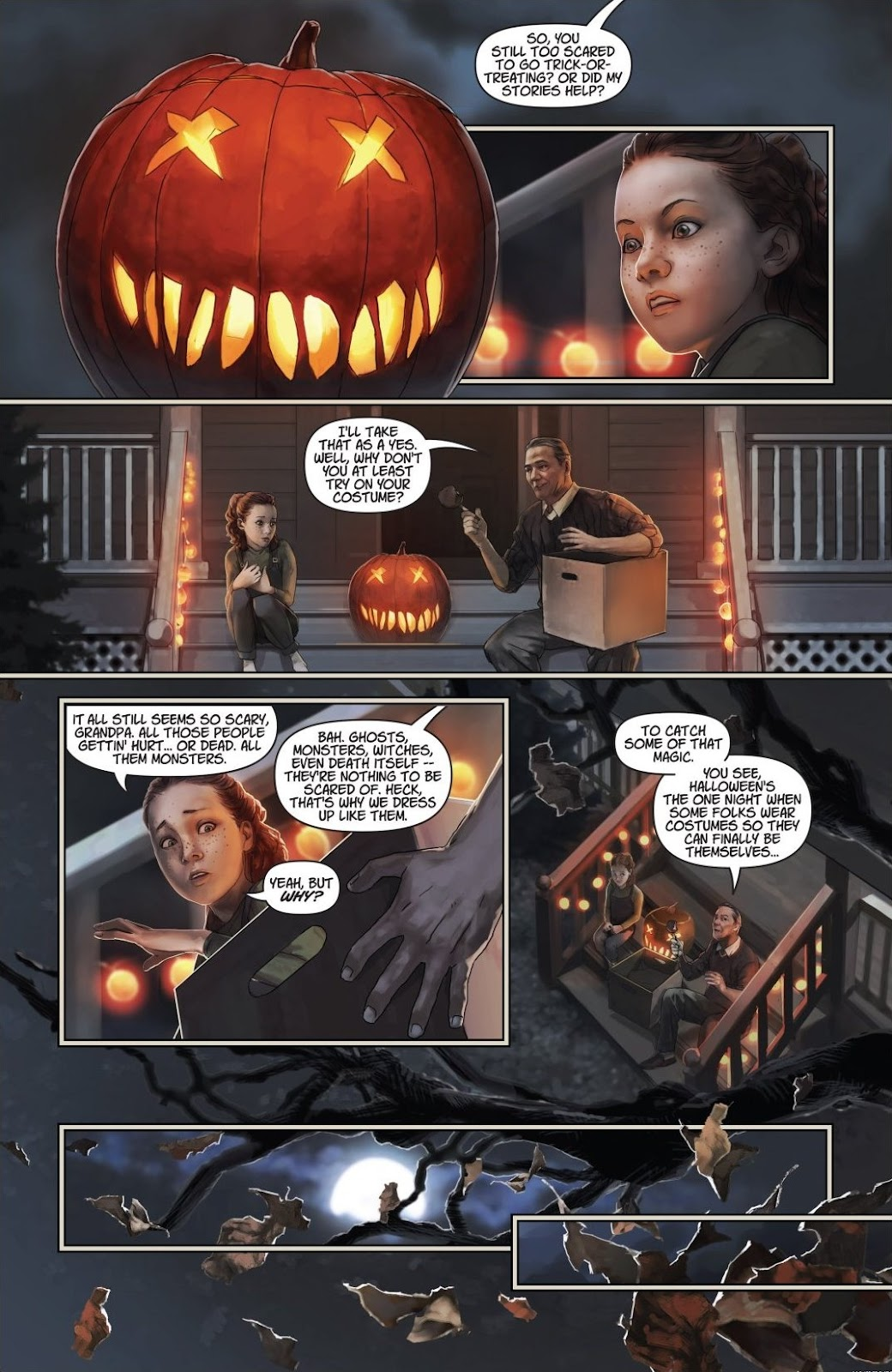 Read online Trick 'r Treat: Days of the Dead comic -  Issue # TPB - 102