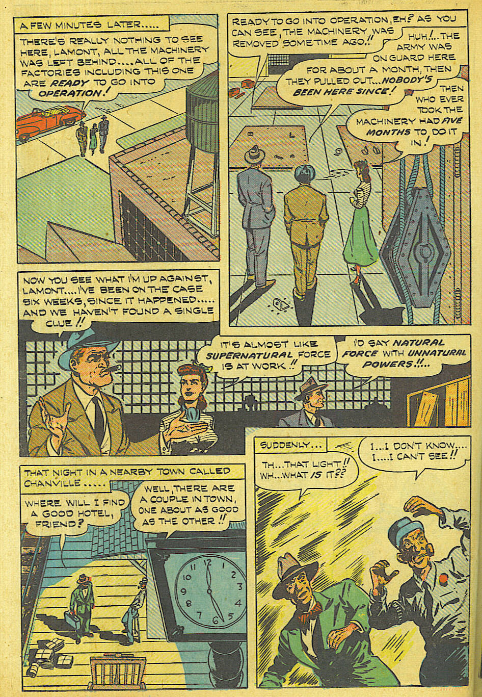 Read online Shadow Comics comic -  Issue #87 - 35