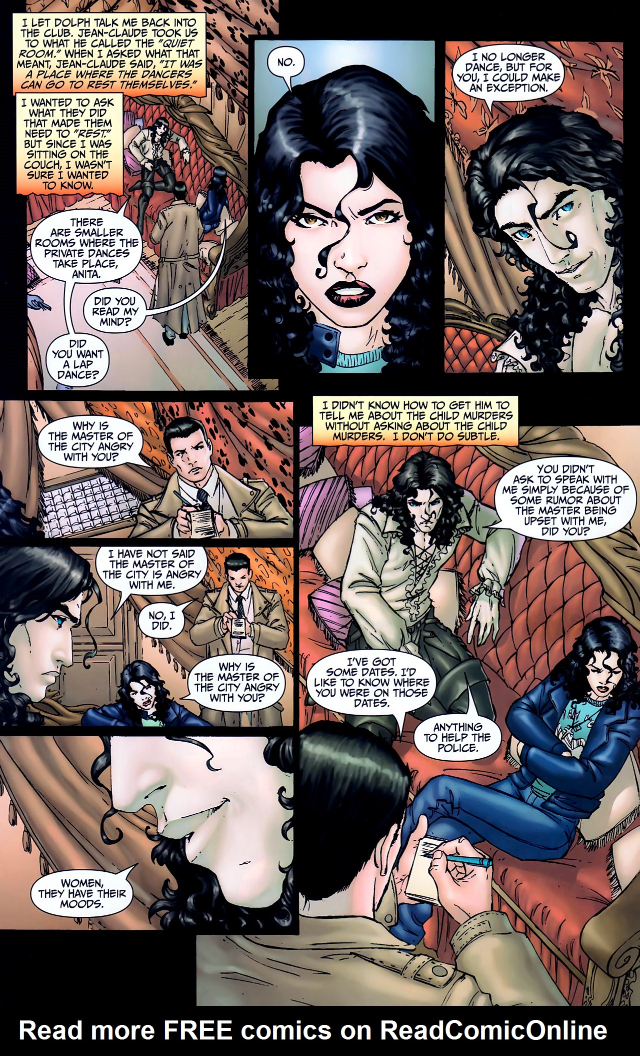 Read online Anita Blake, Vampire Hunter: The First Death comic -  Issue #1 - 24