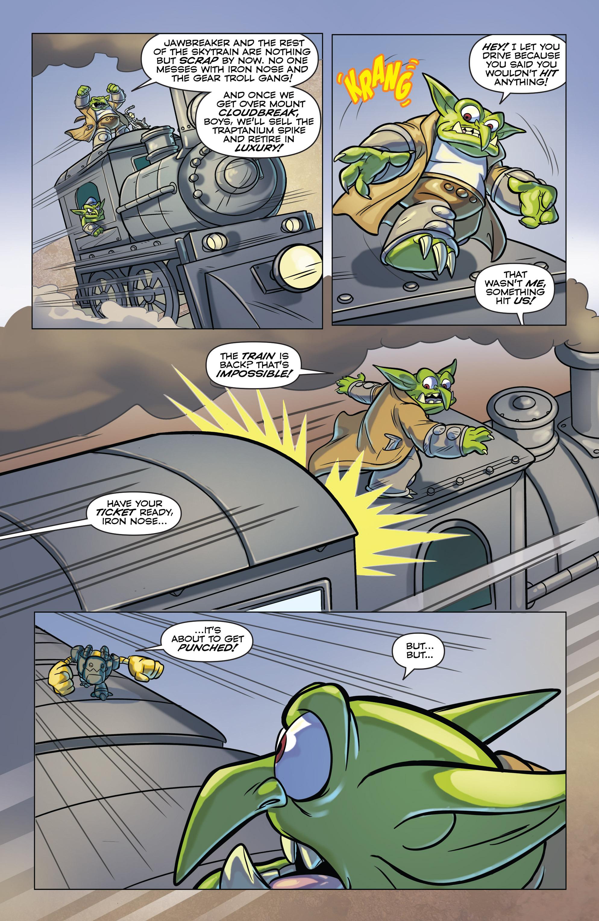 Read online Skylanders comic -  Issue #6 - 16