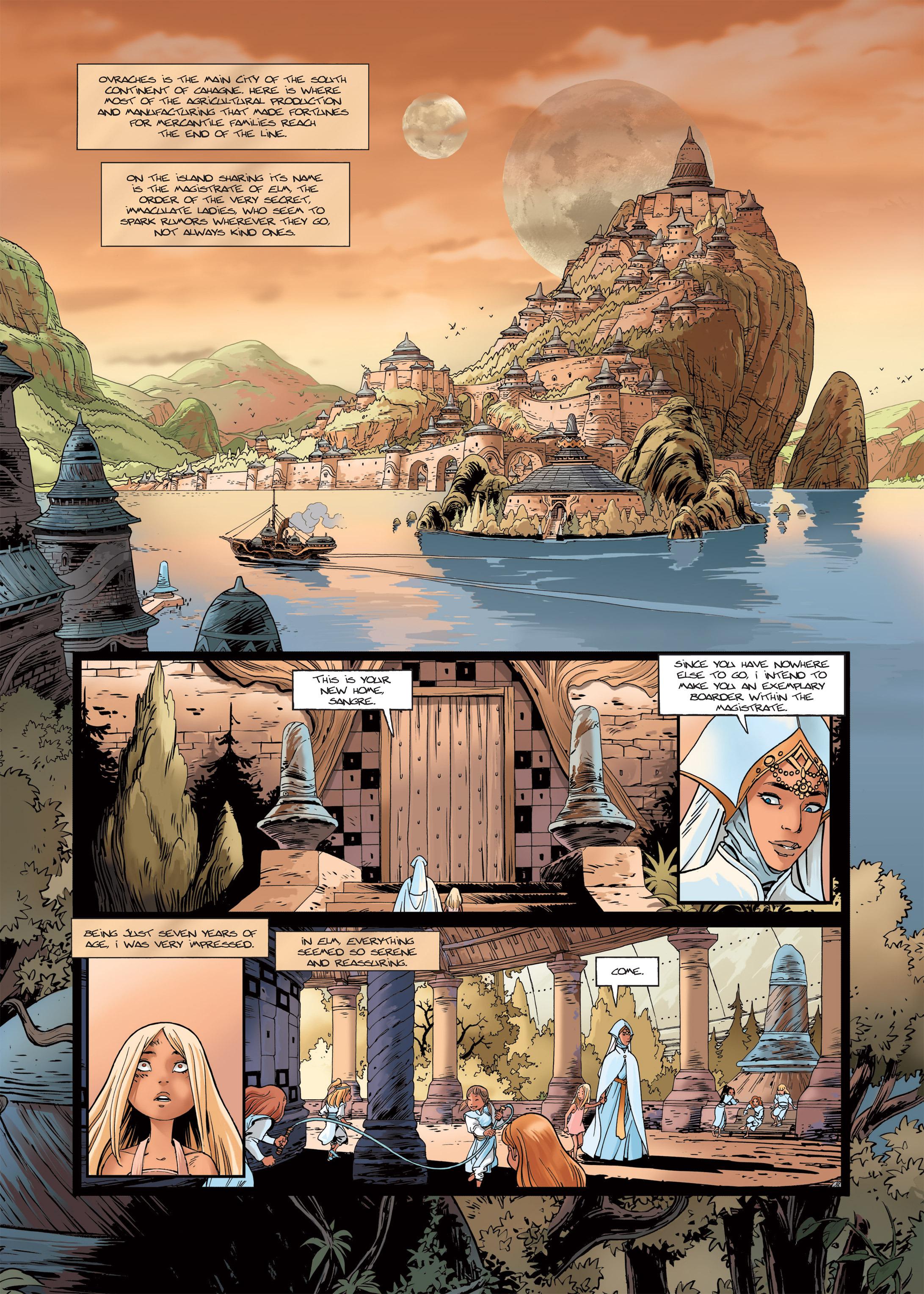 Read online Sangre Vol. 1: Sangre the Survivor comic -  Issue # Full - 15