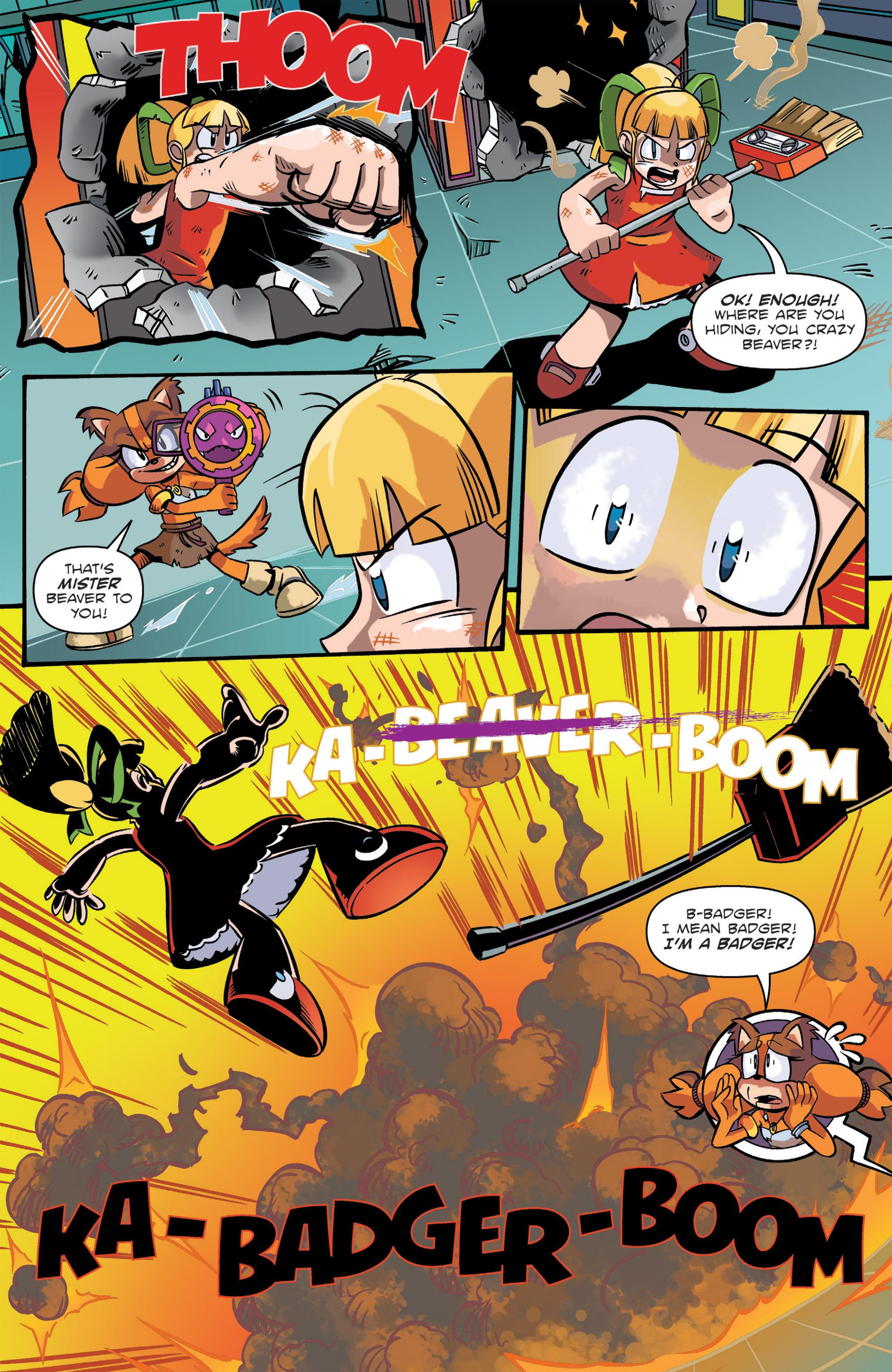 Read online Sonic: Worlds Unite Battles comic -  Issue # Full - 16
