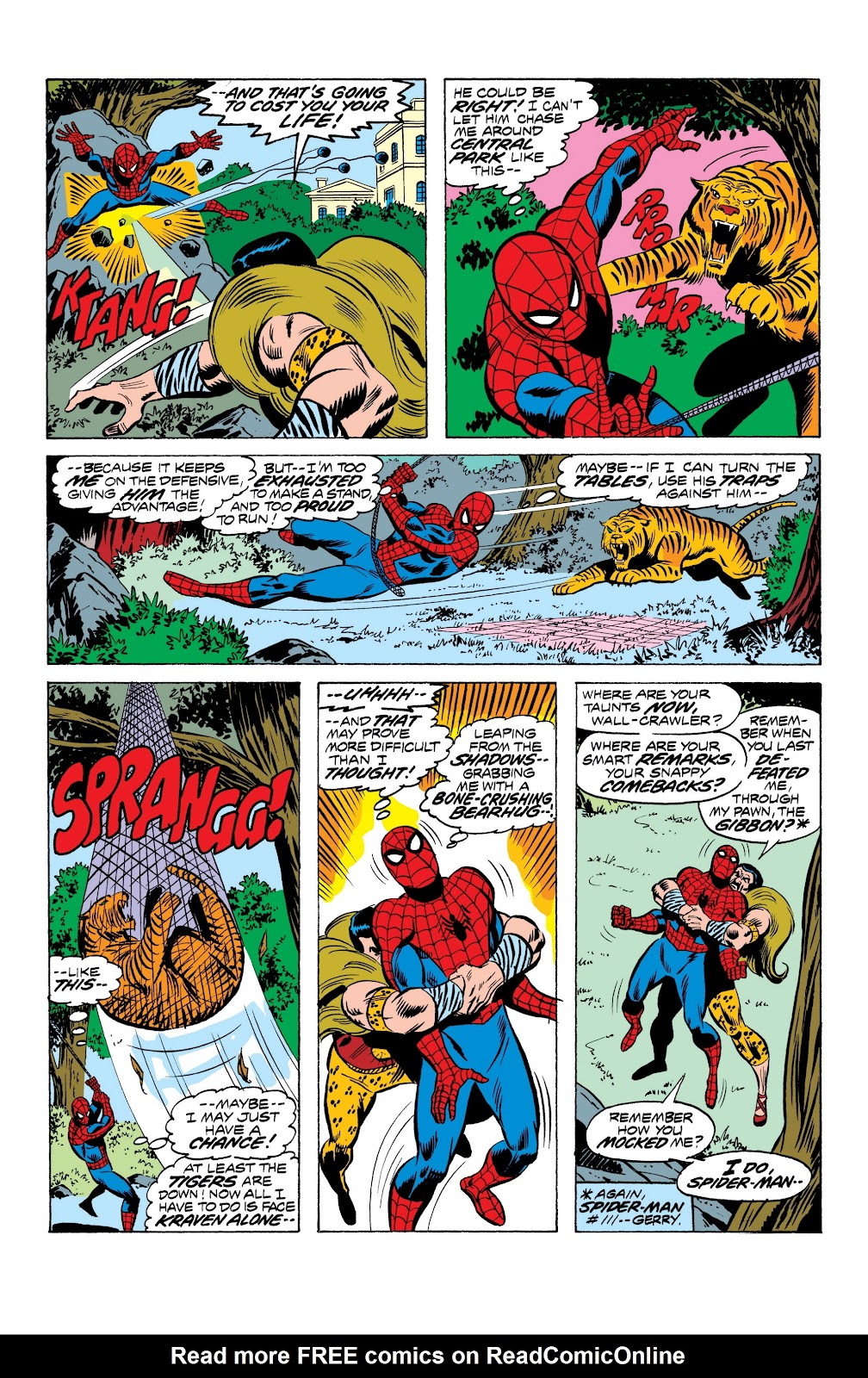 Read online Marvel Masterworks: The Spectacular Spider-Man comic -  Issue # TPB (Part 1) - 39
