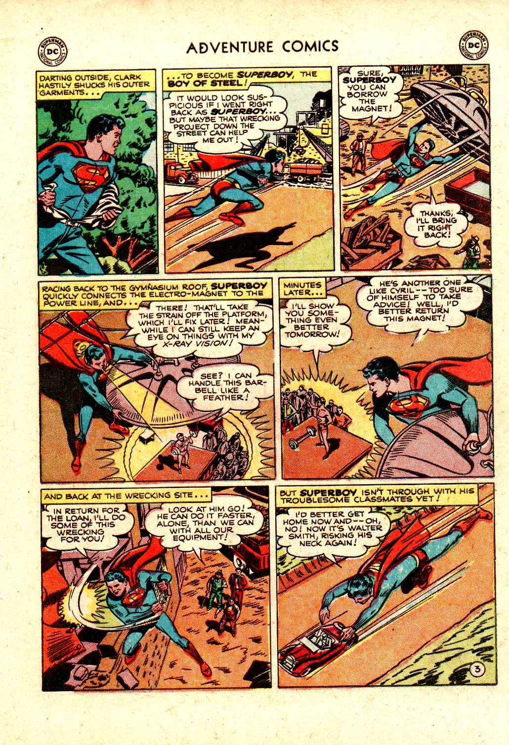 Read online Adventure Comics (1938) comic -  Issue #173 - 5