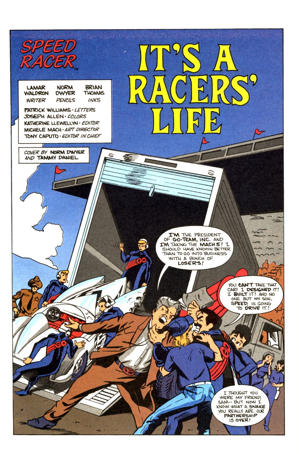 Speed Racer (1987) issue 30 - Page 2