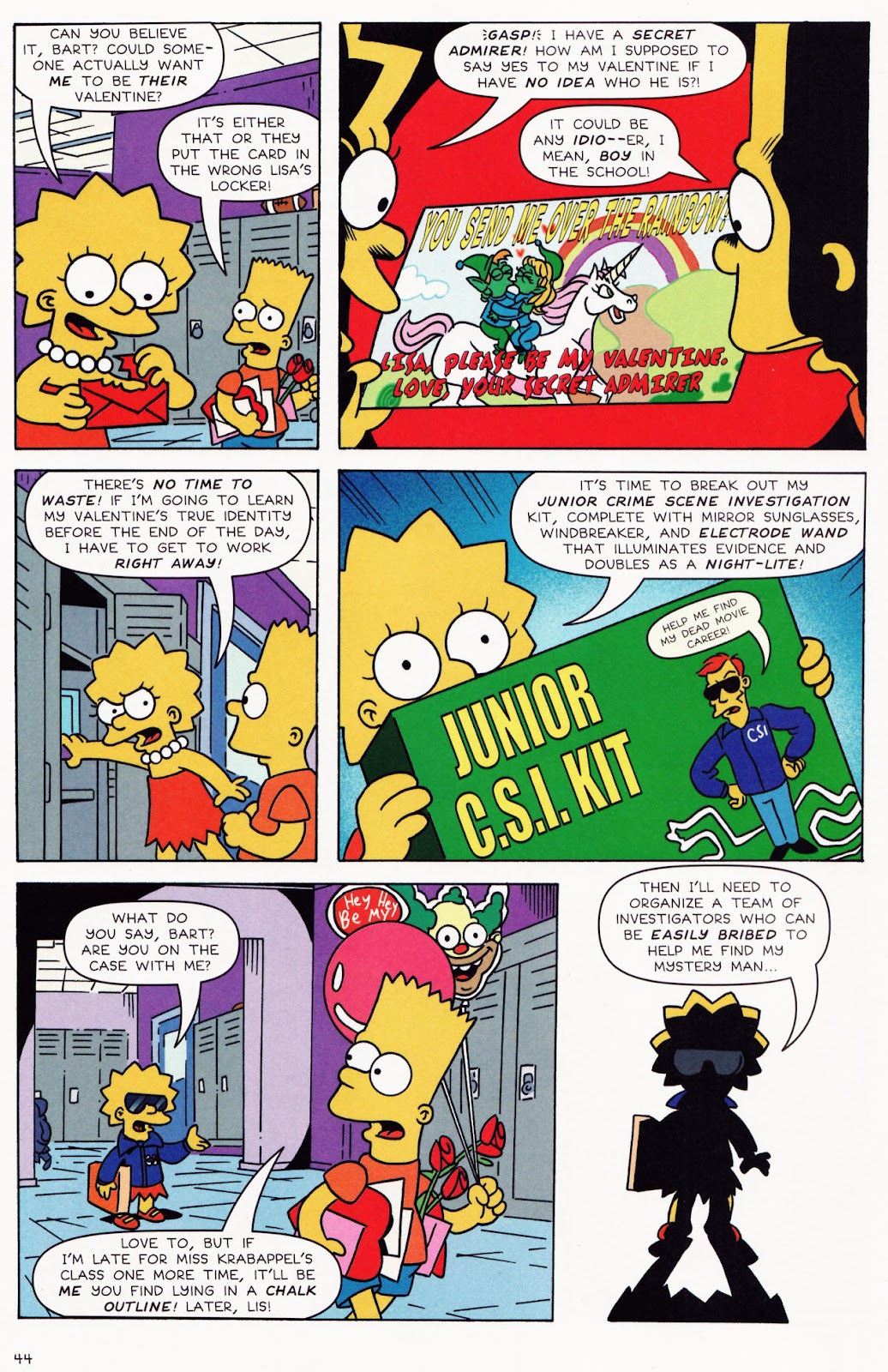 Read online The Simpsons Winter Wingding comic -  Issue #2 - 45