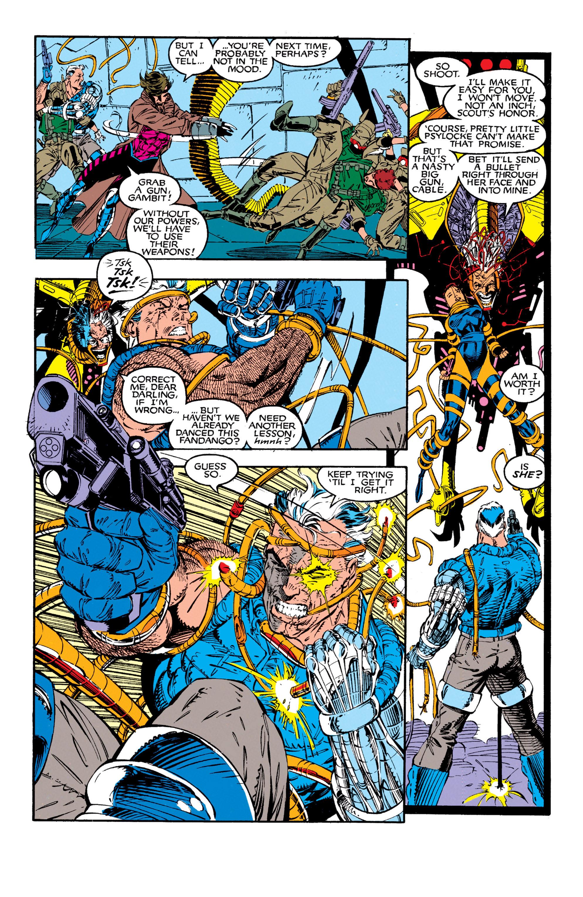 Read online Uncanny X-Men (1963) comic -  Issue #272 - 8