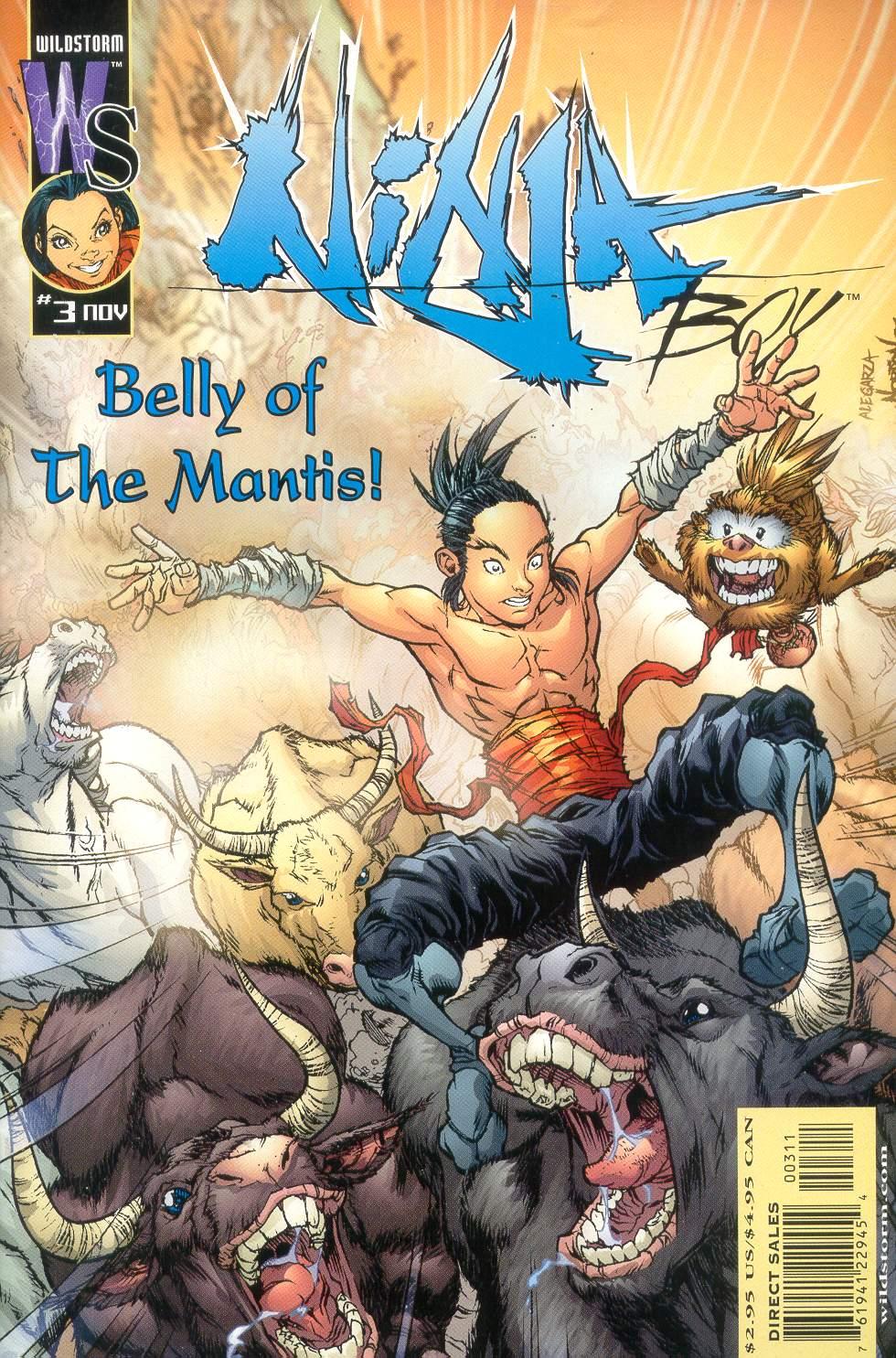 Ninja Boy 3 Page 1