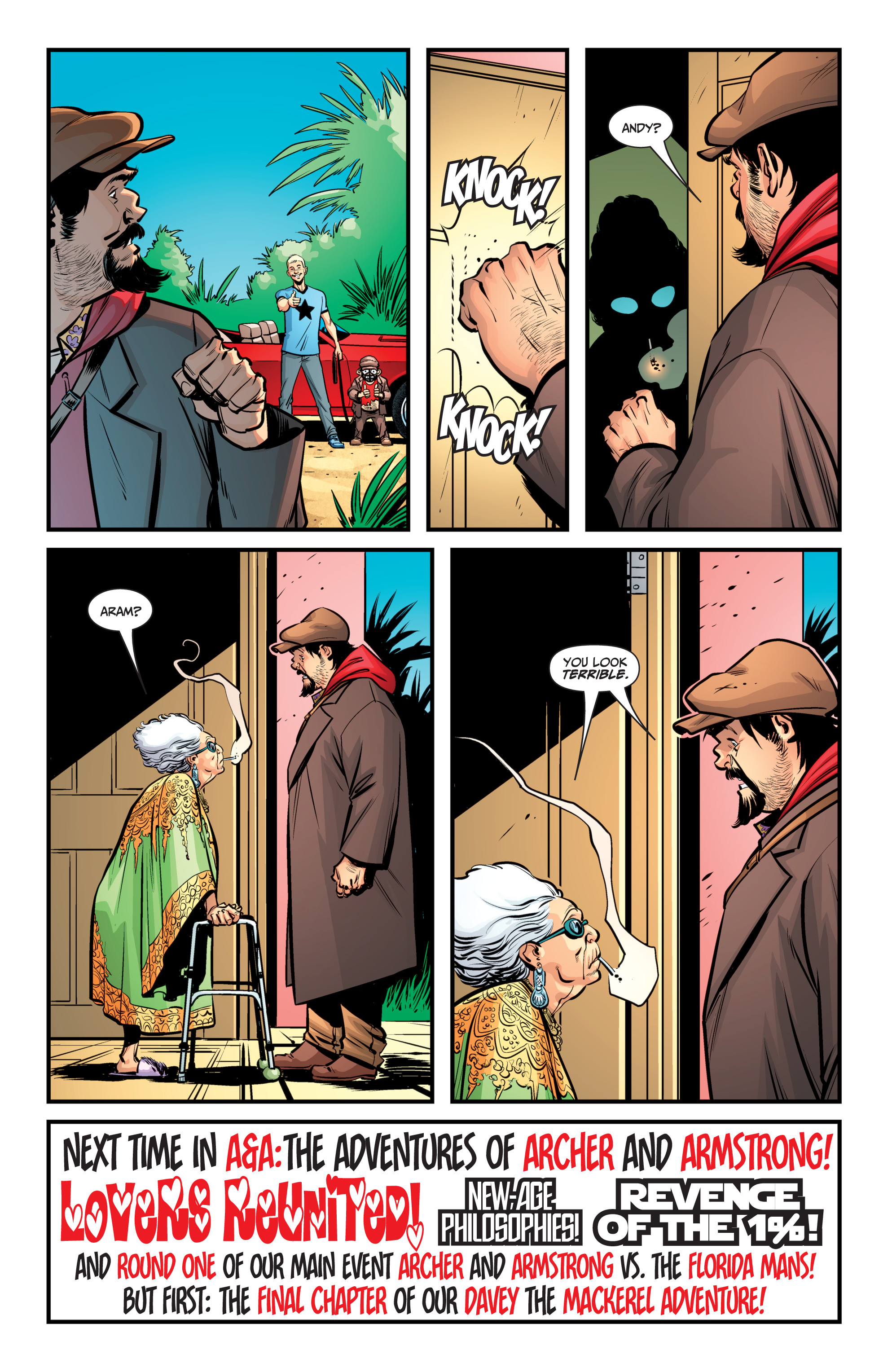 Read online A&A: The Adventures of Archer & Armstrong comic -  Issue #8 - 21
