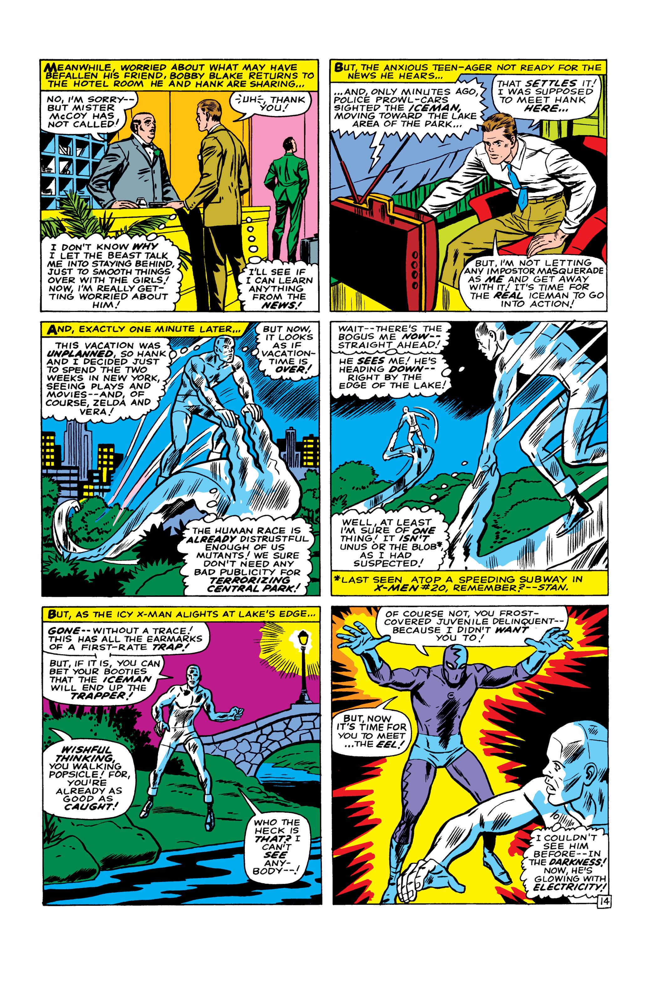 Read online Uncanny X-Men (1963) comic -  Issue #22 - 15