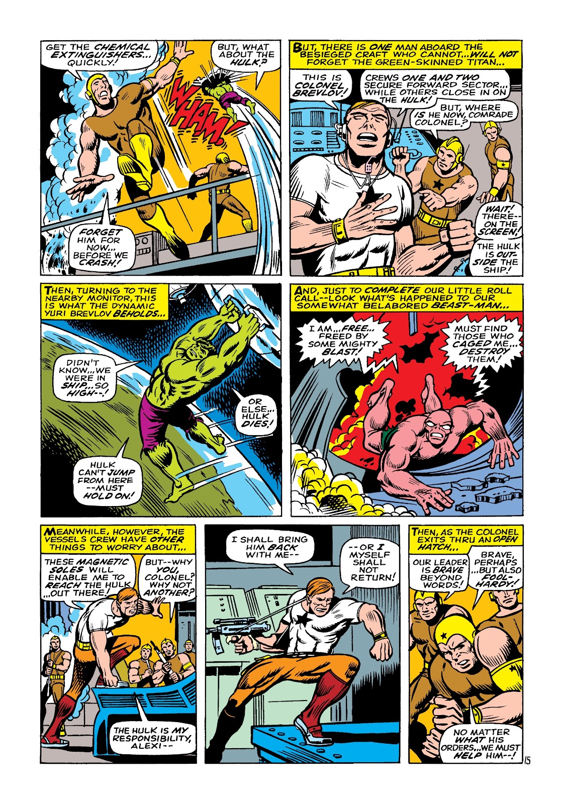 Read online Marvel Masterworks: The Incredible Hulk comic -  Issue # TPB 4 (Part 1) - 85