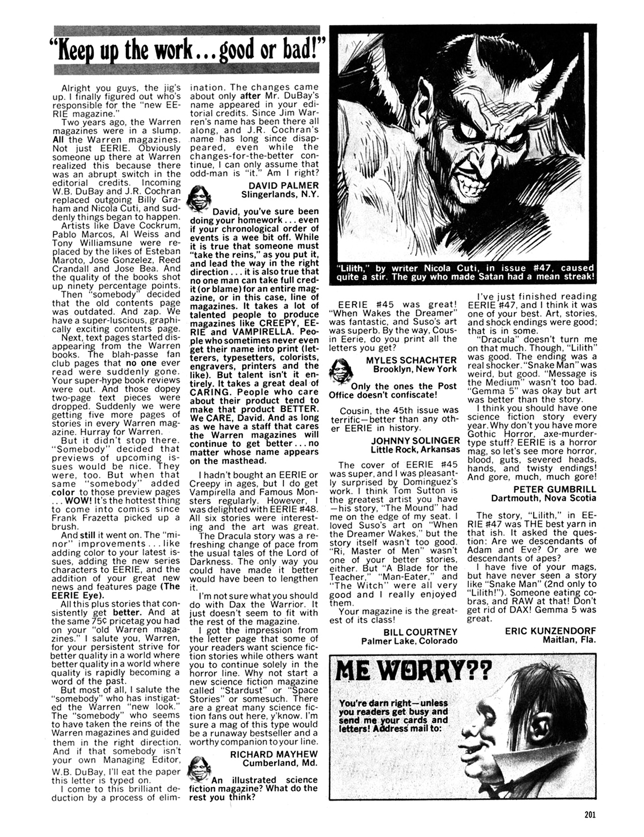 Read online Eerie Archives comic -  Issue # TPB 10 - 202