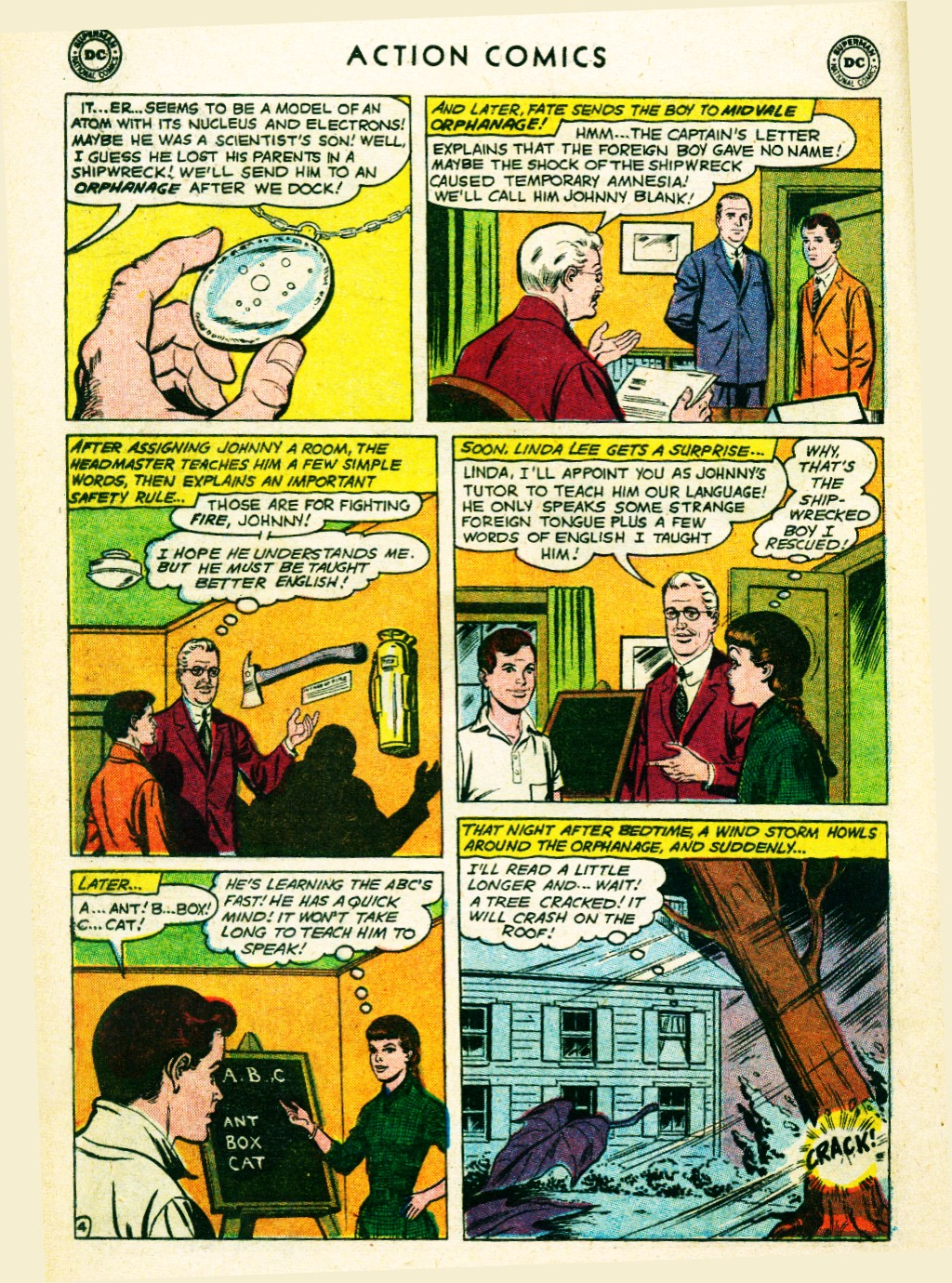 Read online Action Comics (1938) comic -  Issue #263 - 22